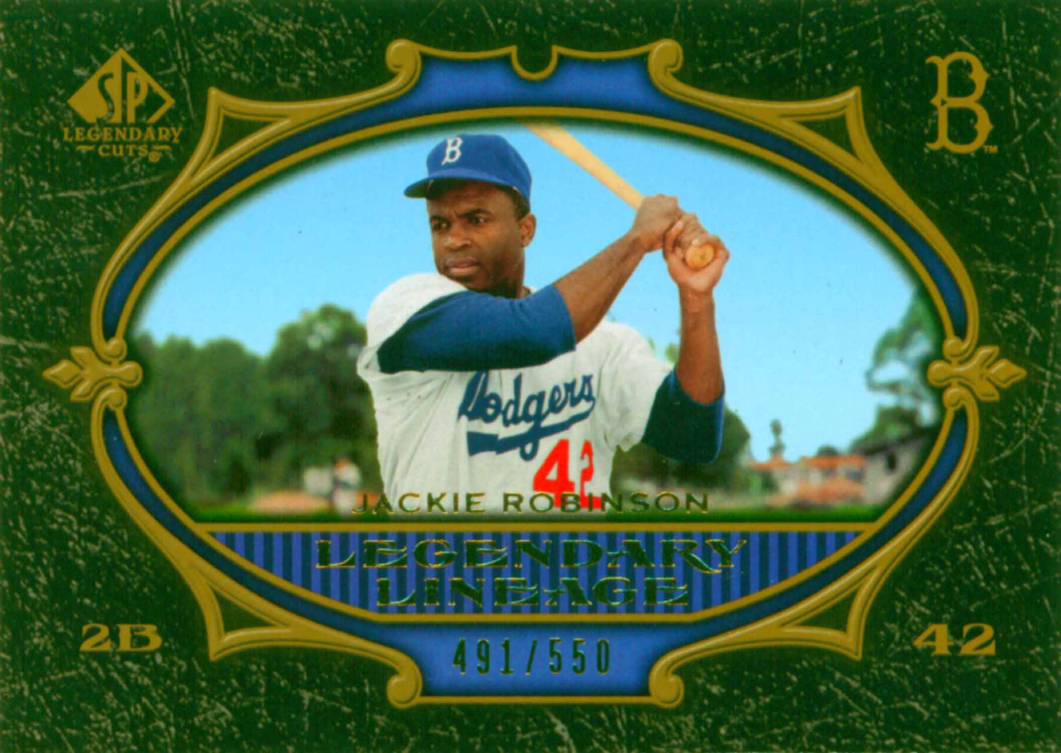 2007 SP Legendary Cuts Legendary Lineage