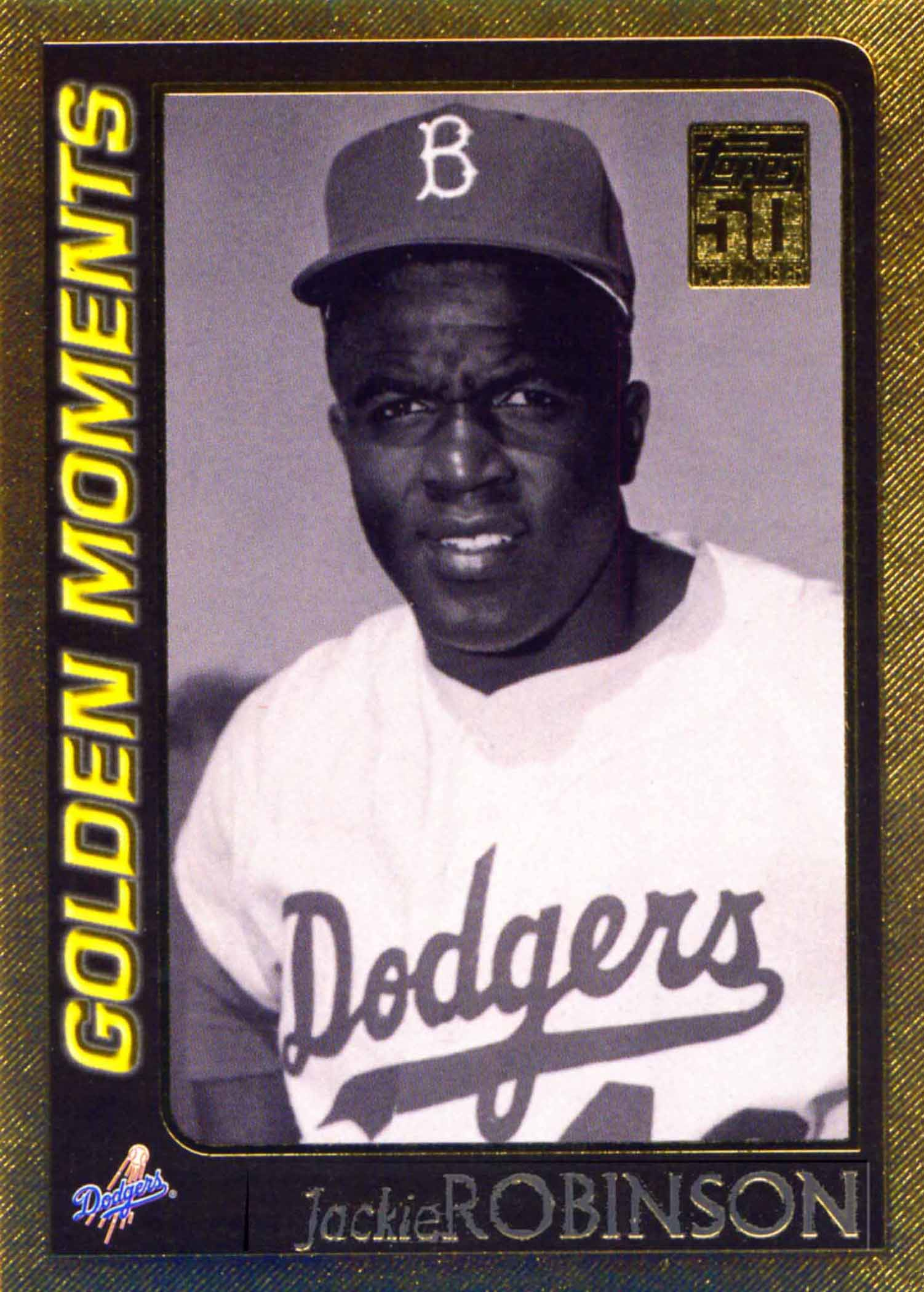 2001 Topps Gold Golden Moments