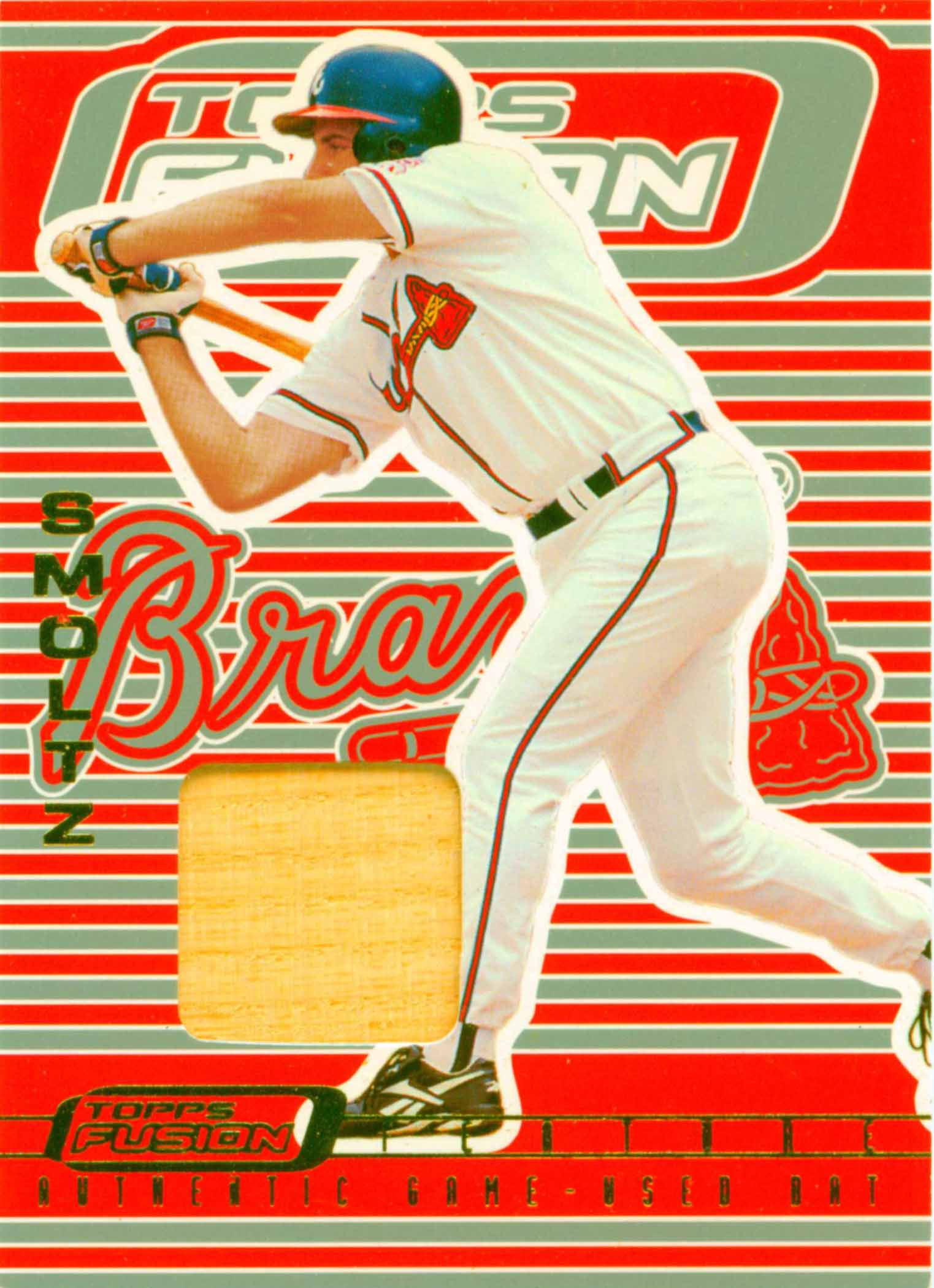 2001 Topps Fusion Feature Bat