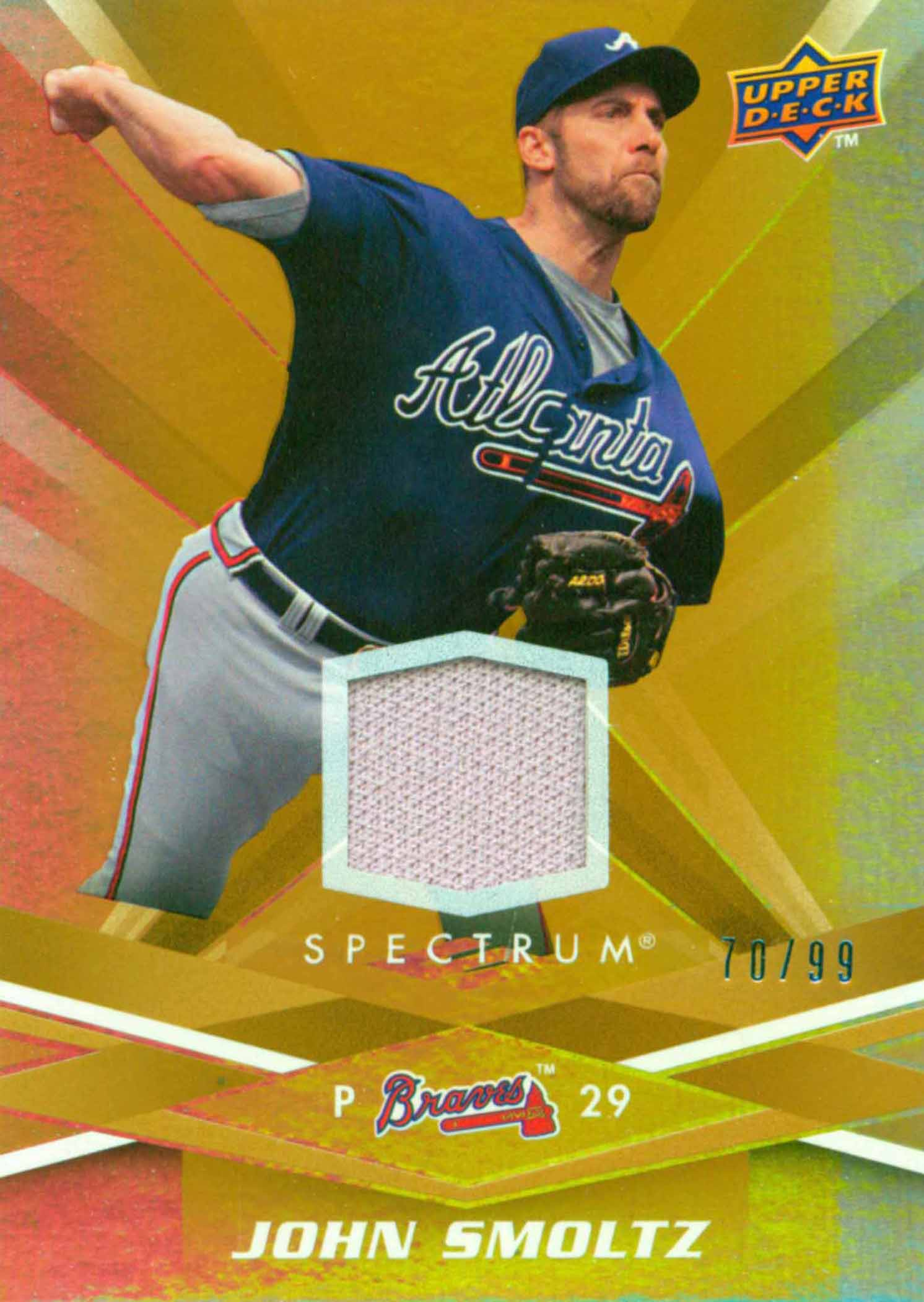 2009 Upper Deck Spectrum Gold Jersey