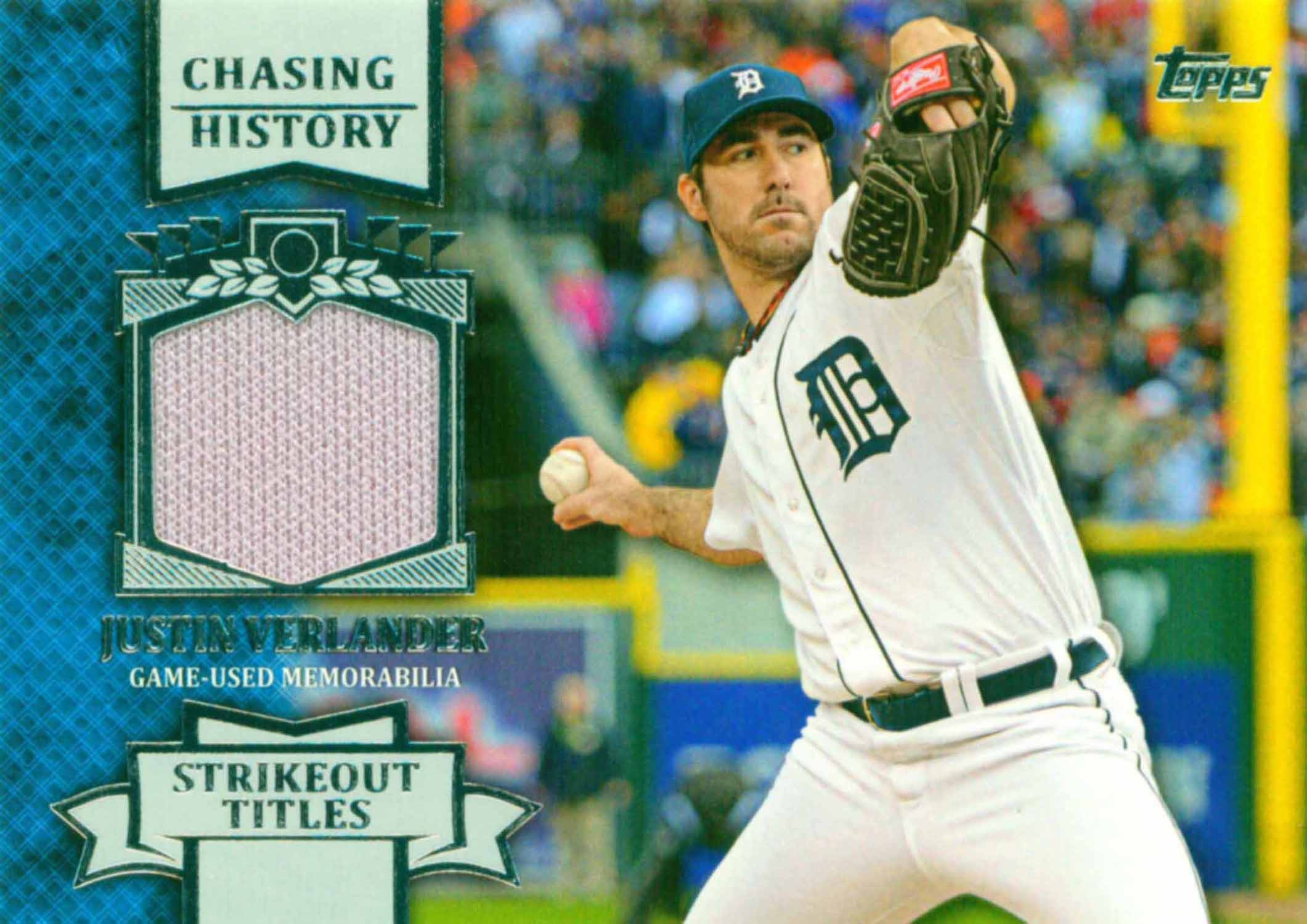 2013 Topps Chasing History Relics