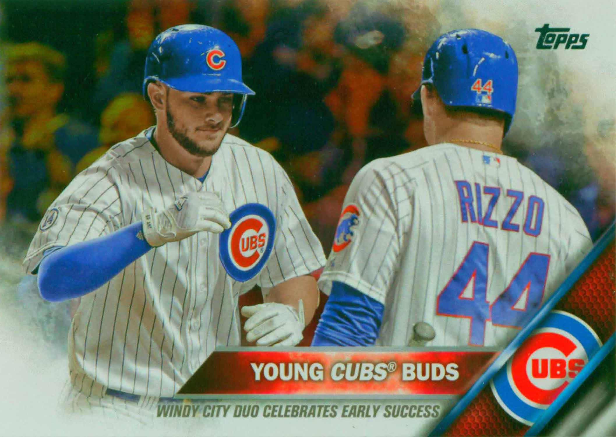 2016 Topps Rainbow Foil Young Cubs Buds