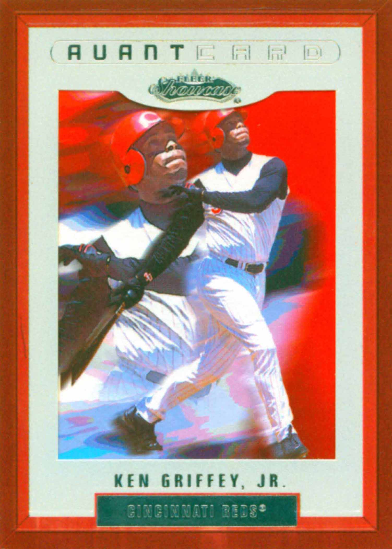 2002 Fleer Showcase AvantCard