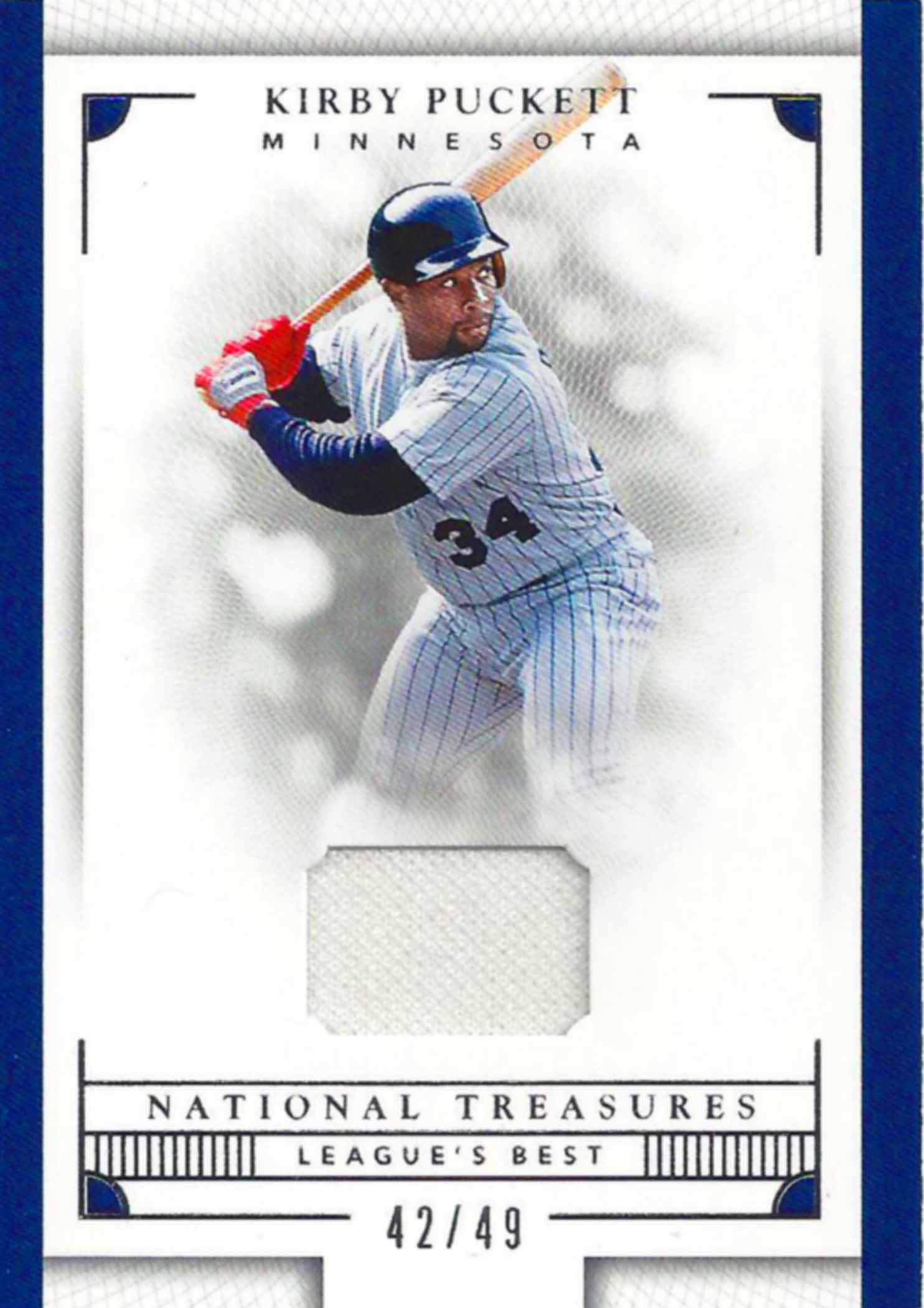 2016 Panini National Treasures Leagues Best Jerseys