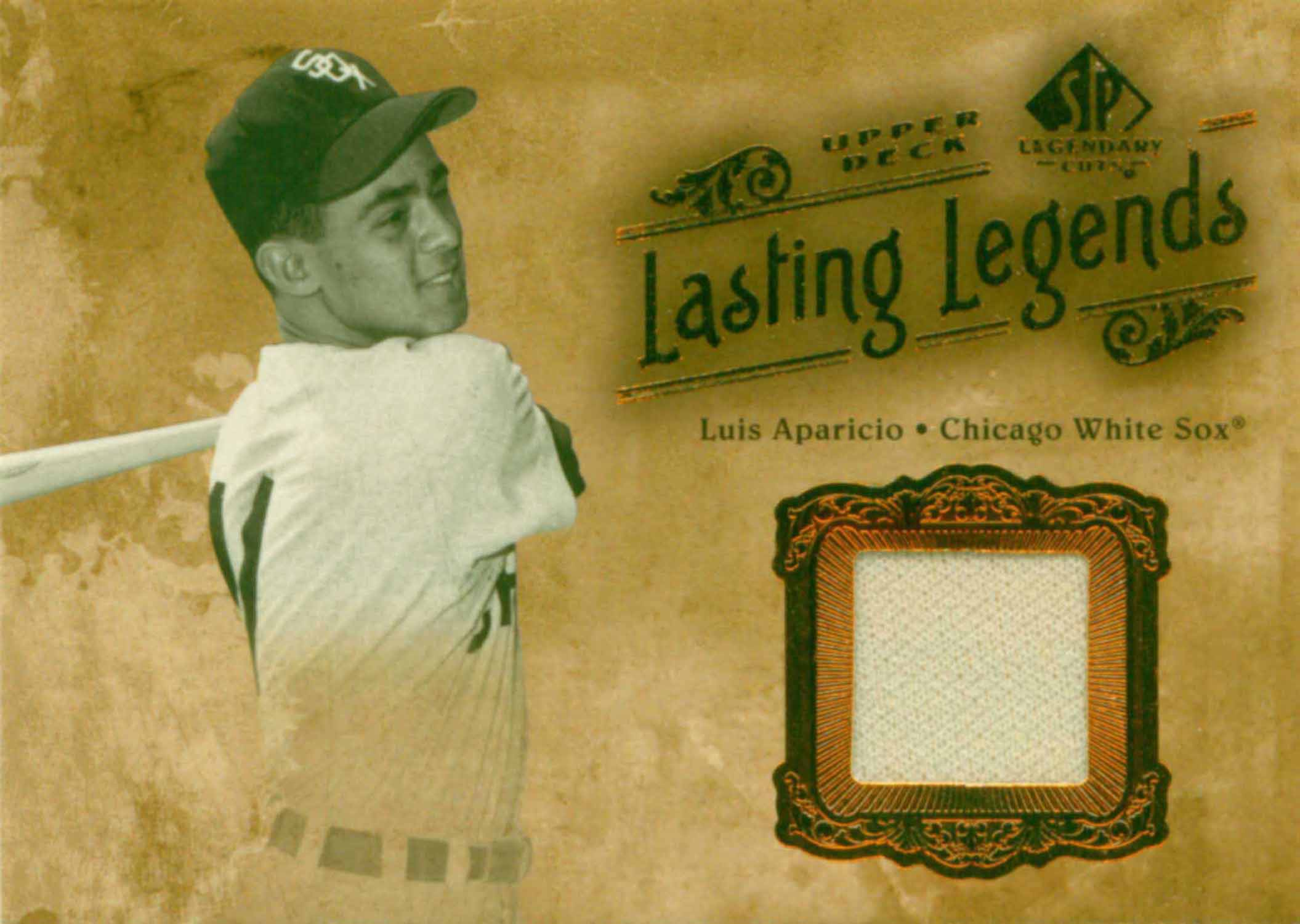 2005 SP Legendary Cuts Lasting Legends Material Jersey