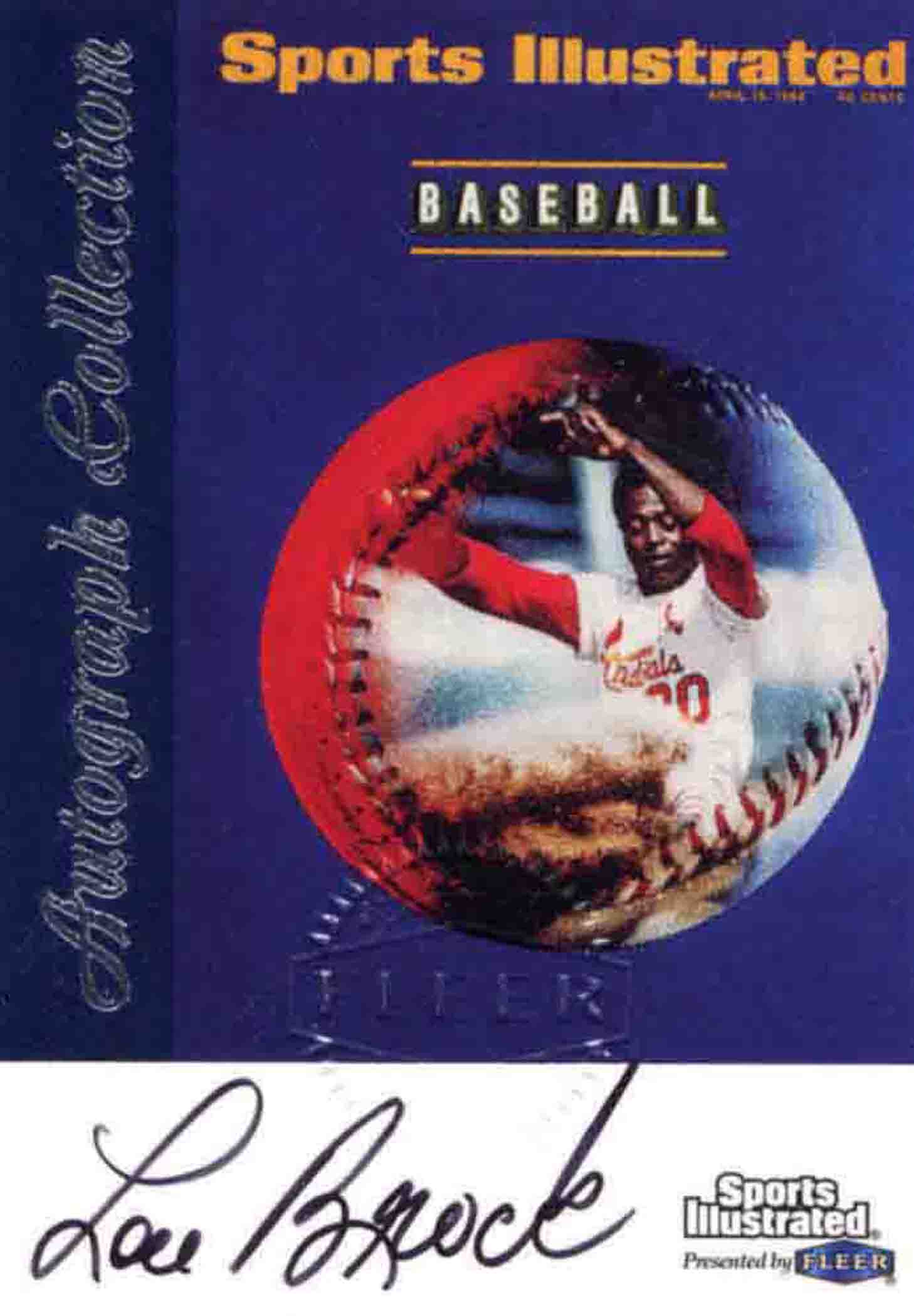 1999 Sports Illustrated Greats of the Game Autographs