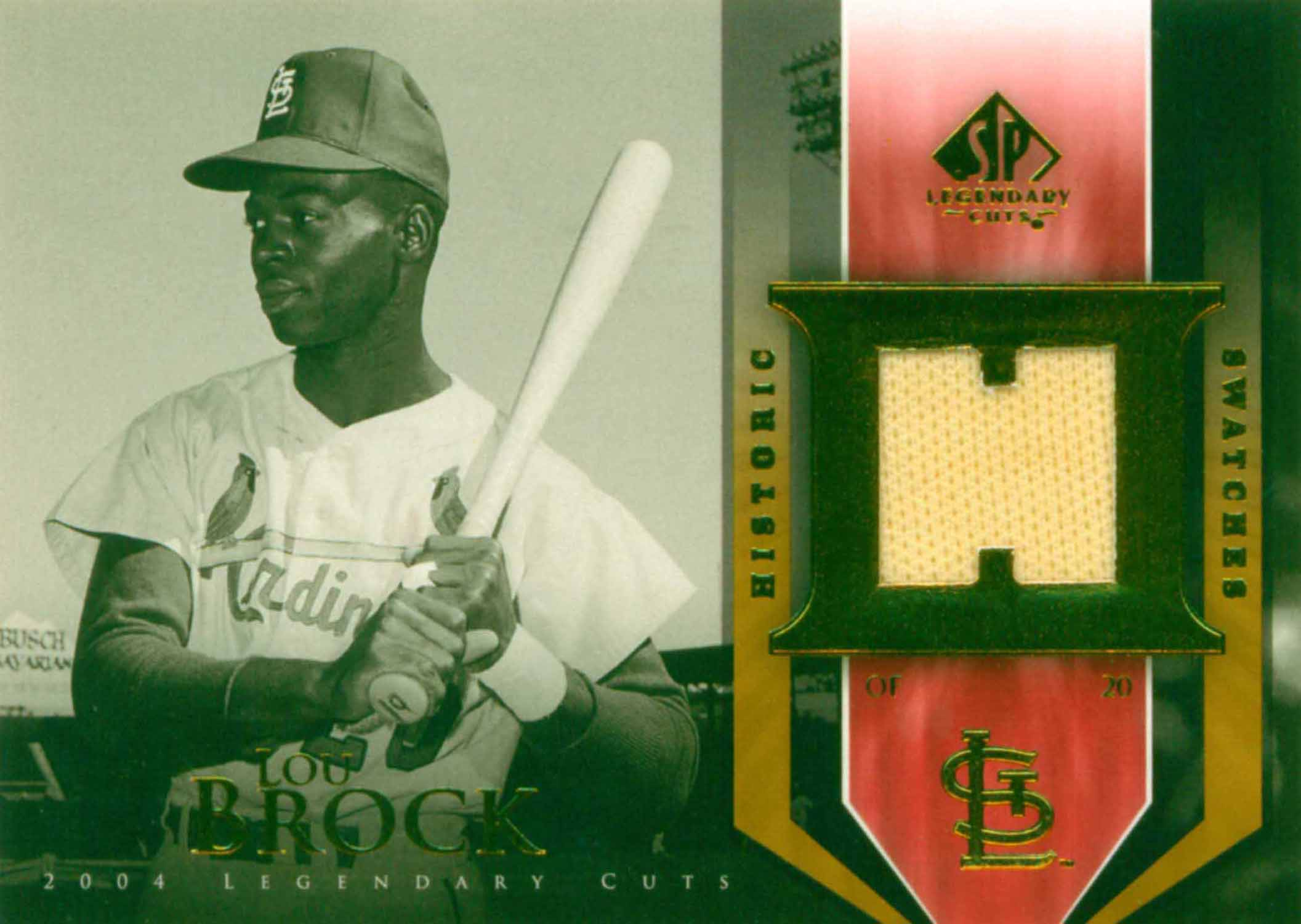 2004 SP Legendary Cuts Historic Swatches Jersey