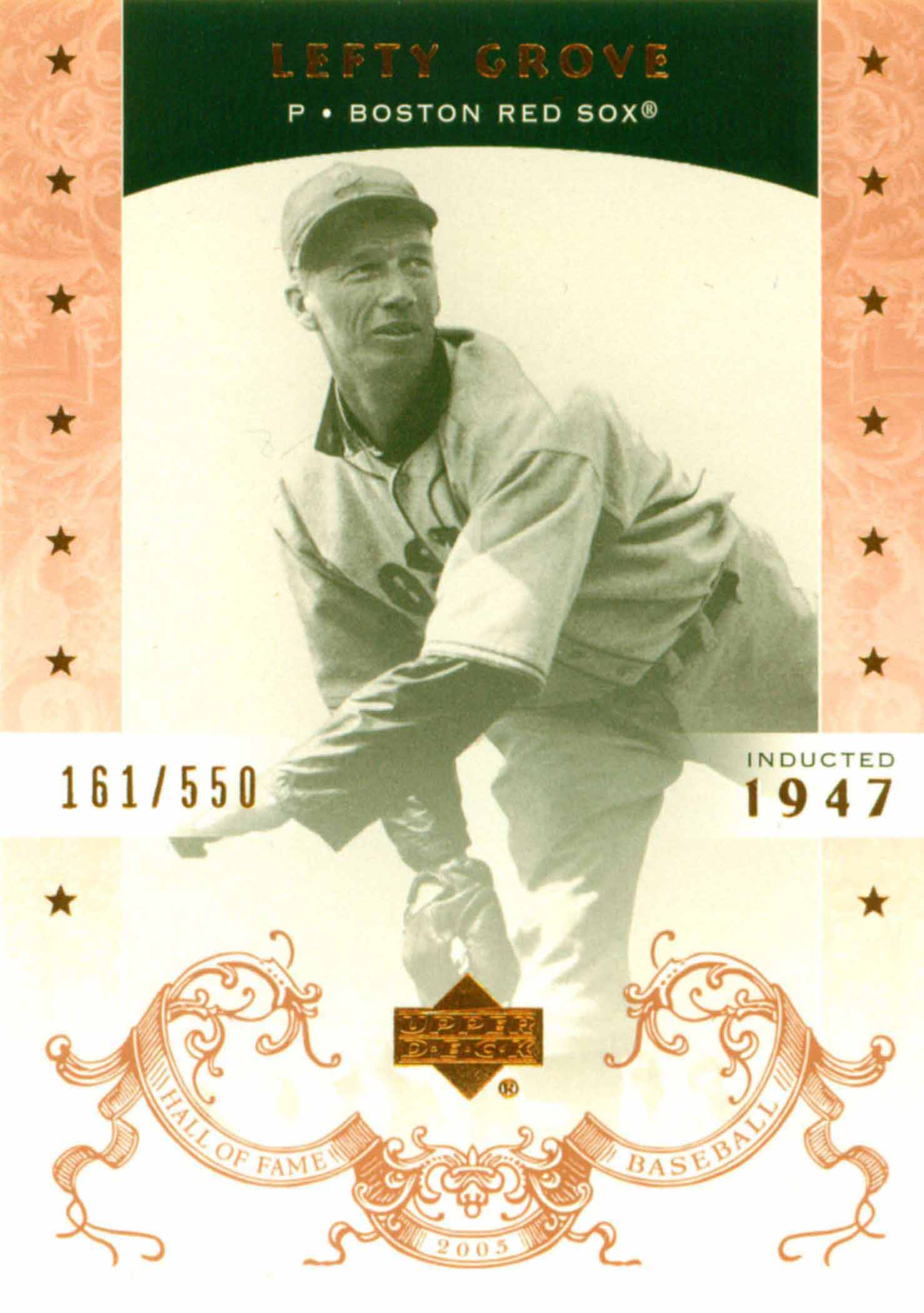 2005 Upper Deck Hall of Fame