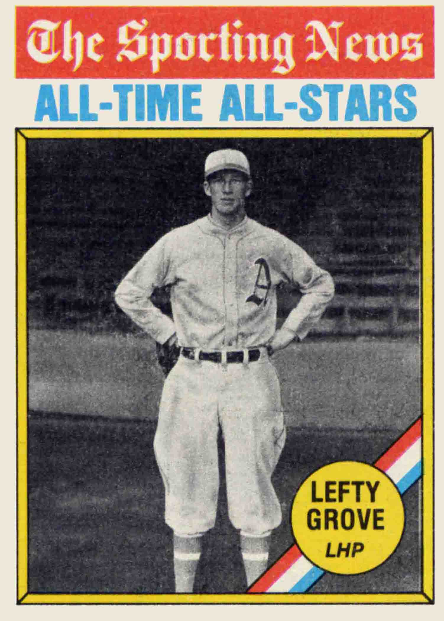 1976 Topps All-Time All-Stars