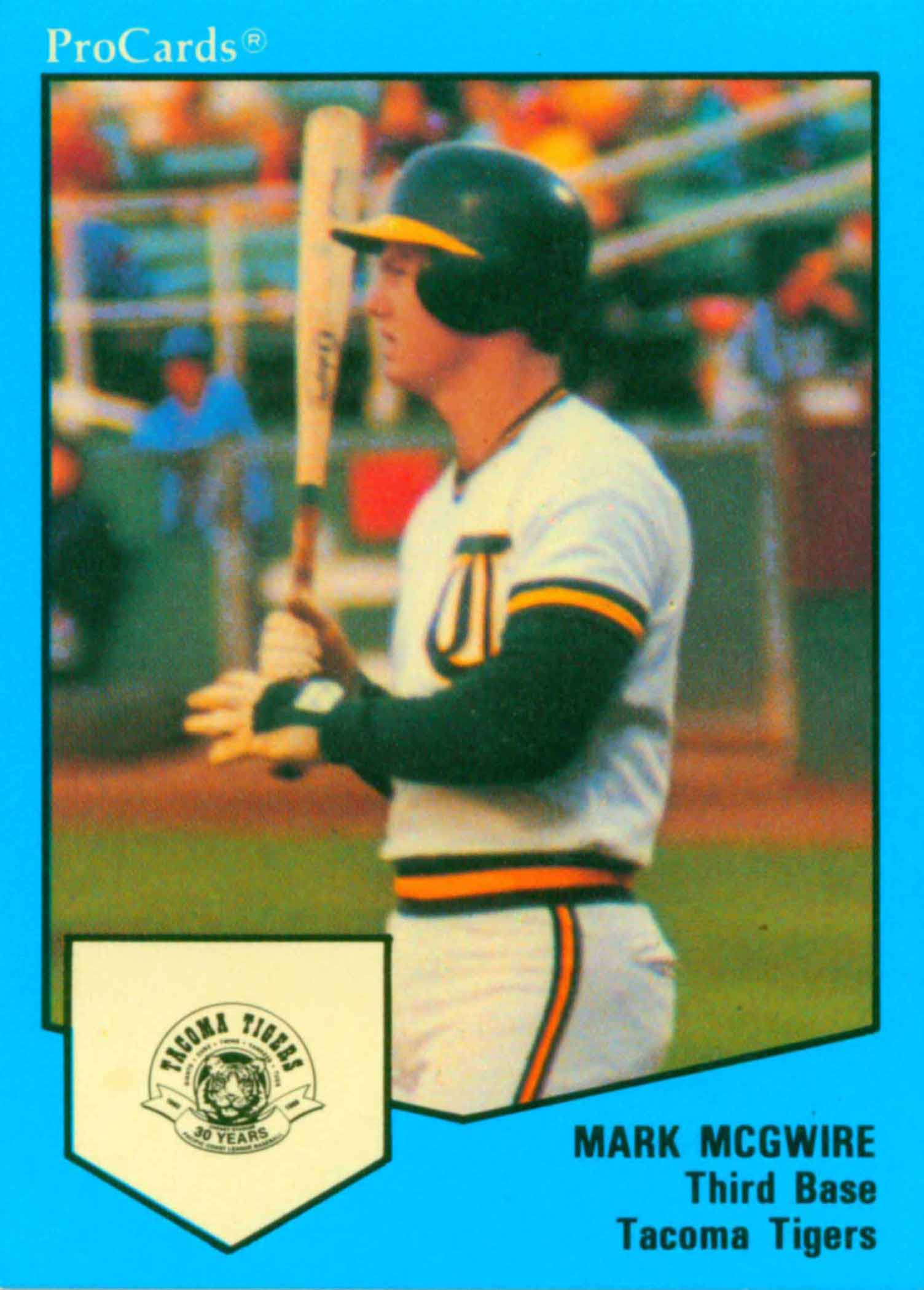 1989 Tacoma Tigers ProCards