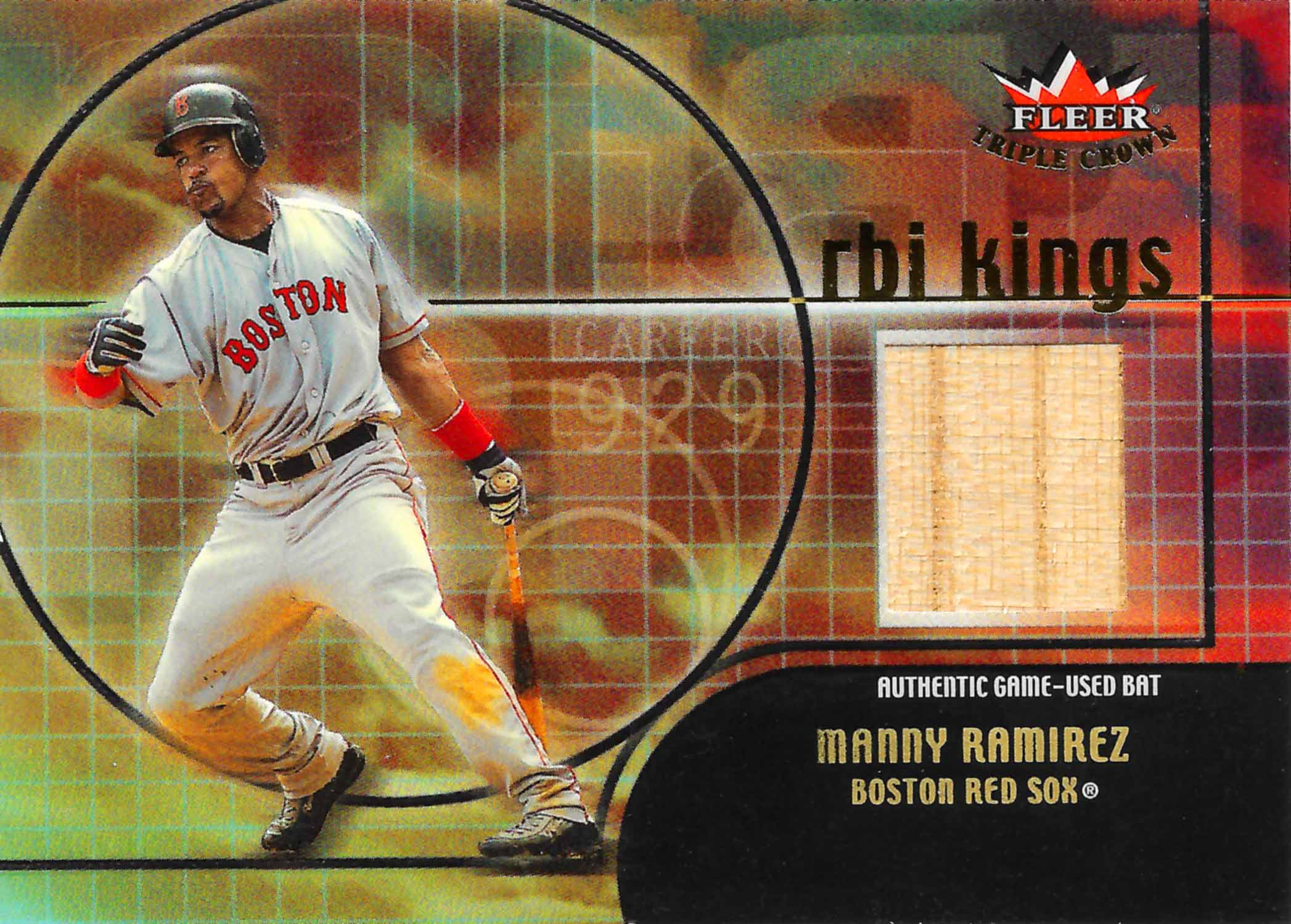 2002 Upper Deck Global Swatch Game Jersey
