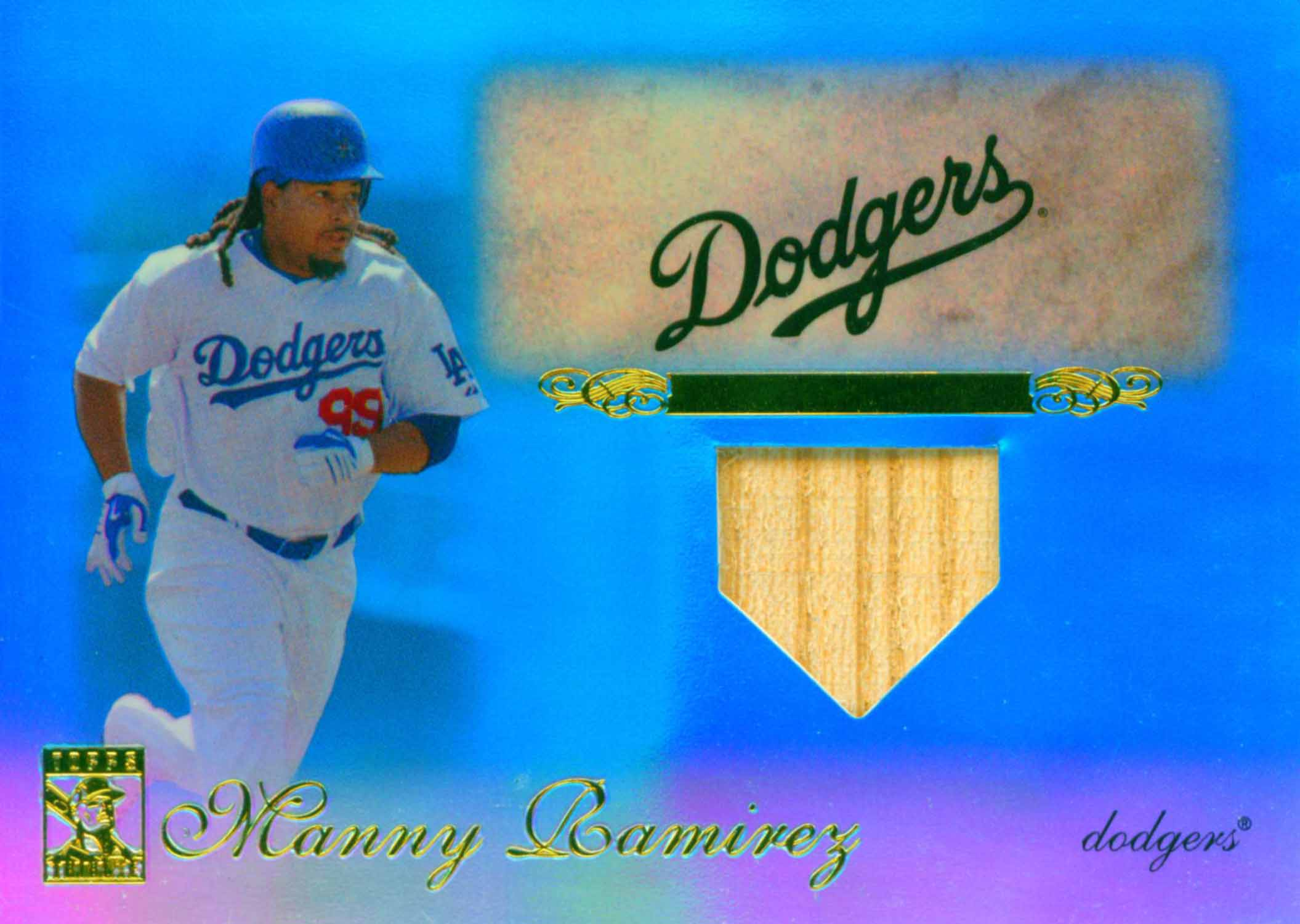 2009 Topps Tribute Relics Blue