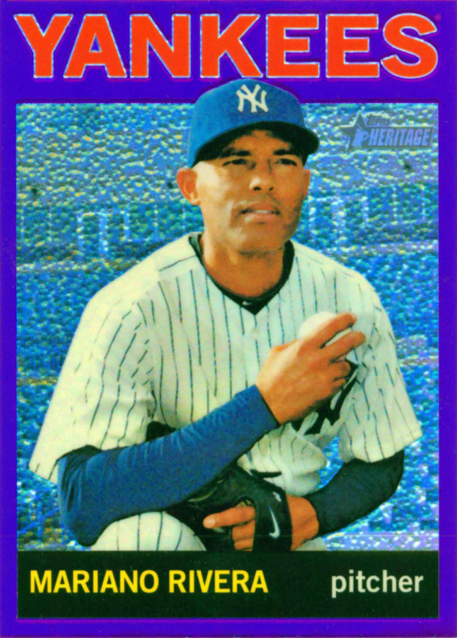 2013 Topps Heritage Chrome Purple Refractors