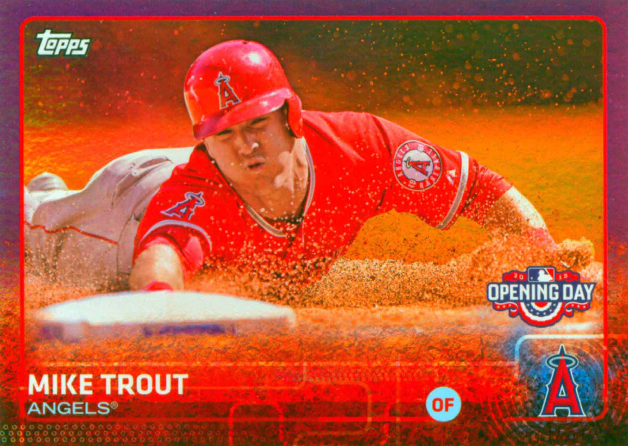 2015 Topps Opening Day Toys R Us Purple Border