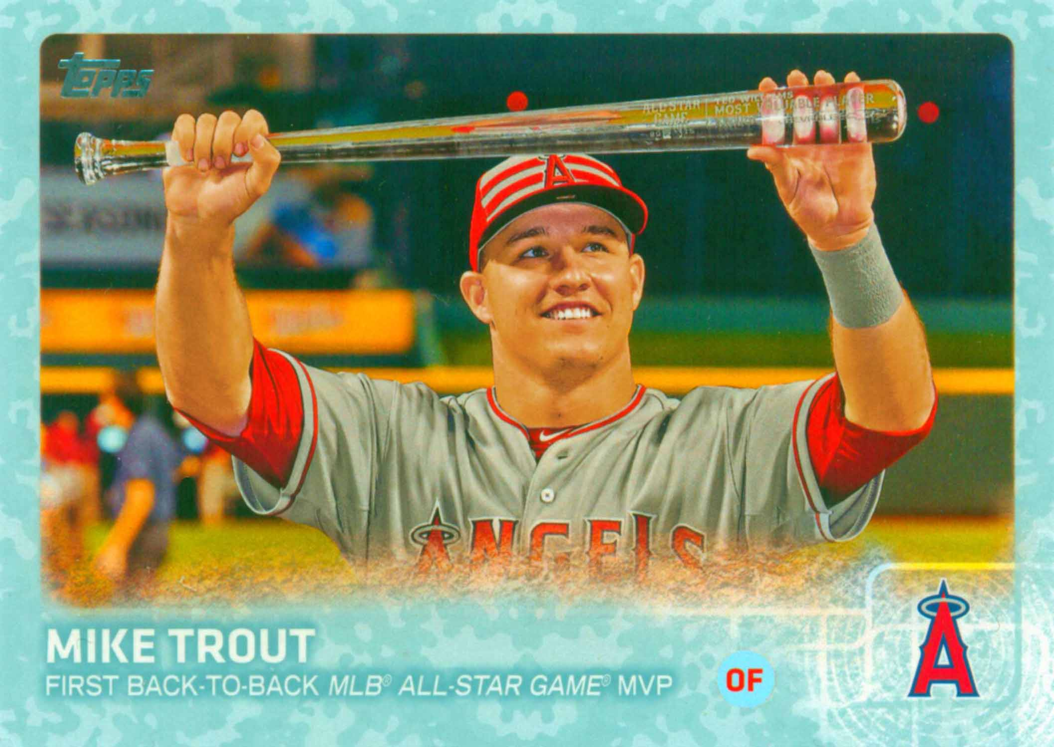 2015 Topps Update Snow Camo Baseball Highlights