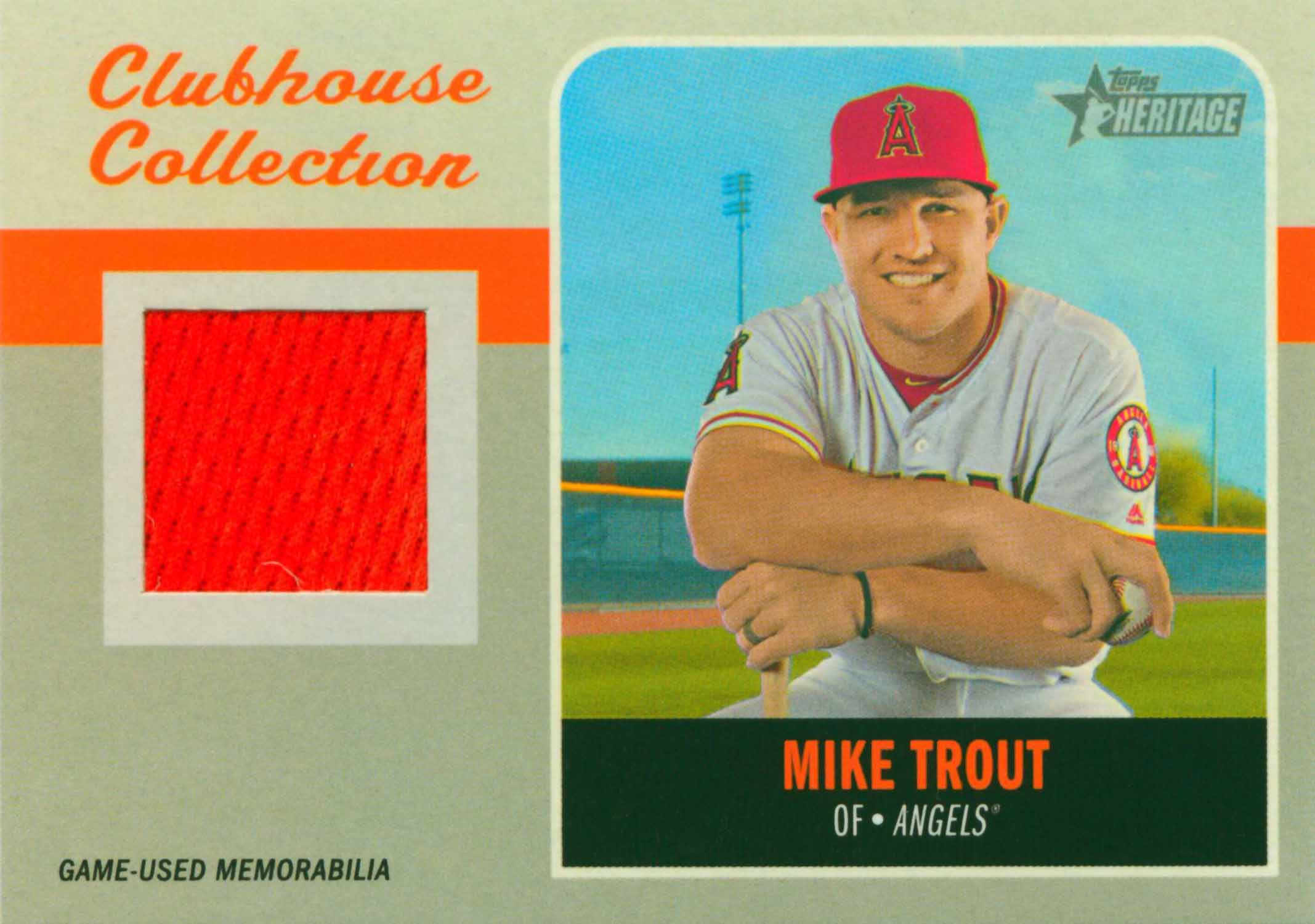 2019 Topps Heritage Clubhouse Collection Relics