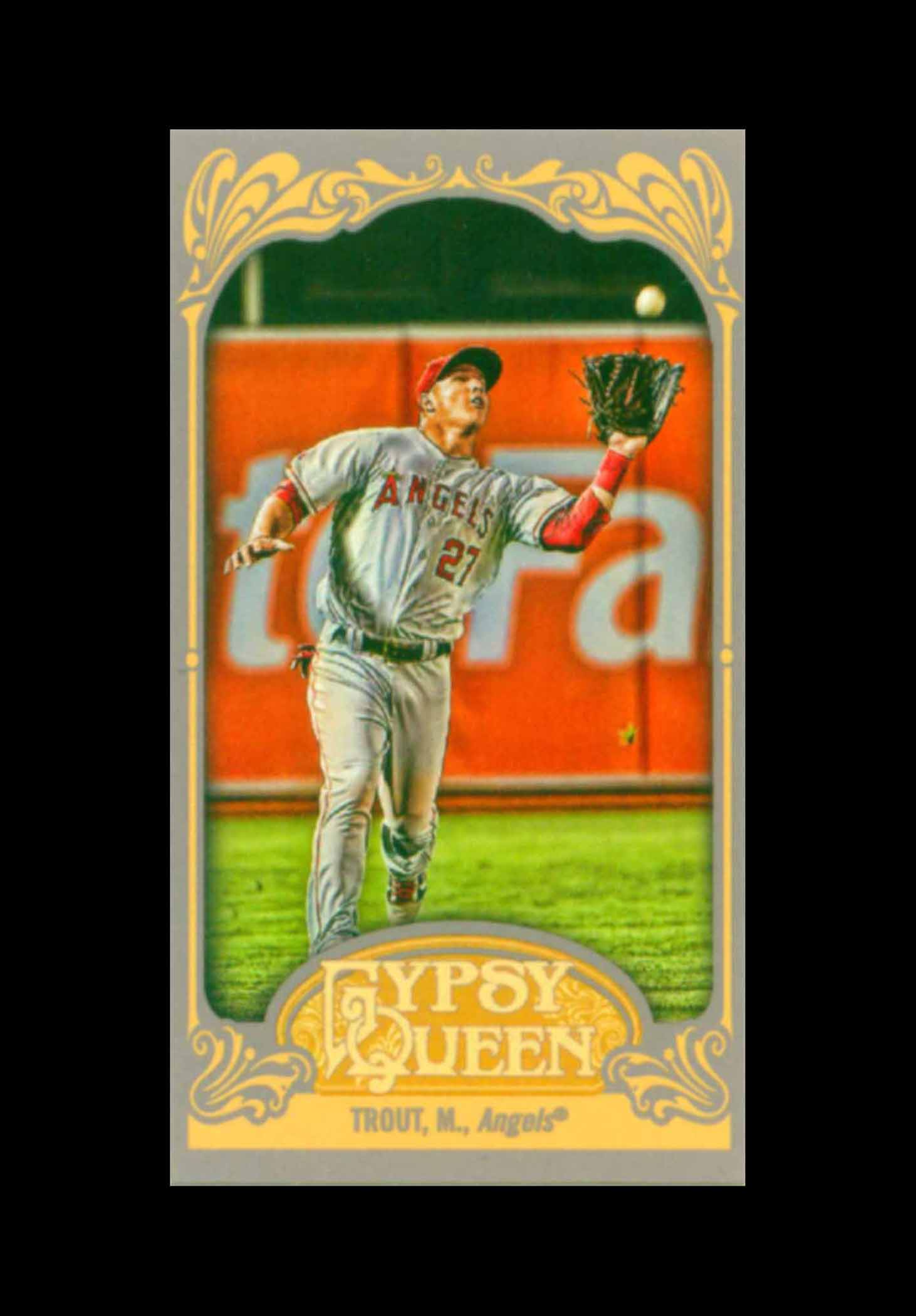 2012 Topps Gypsy Queen Mini Straight Cut Back
