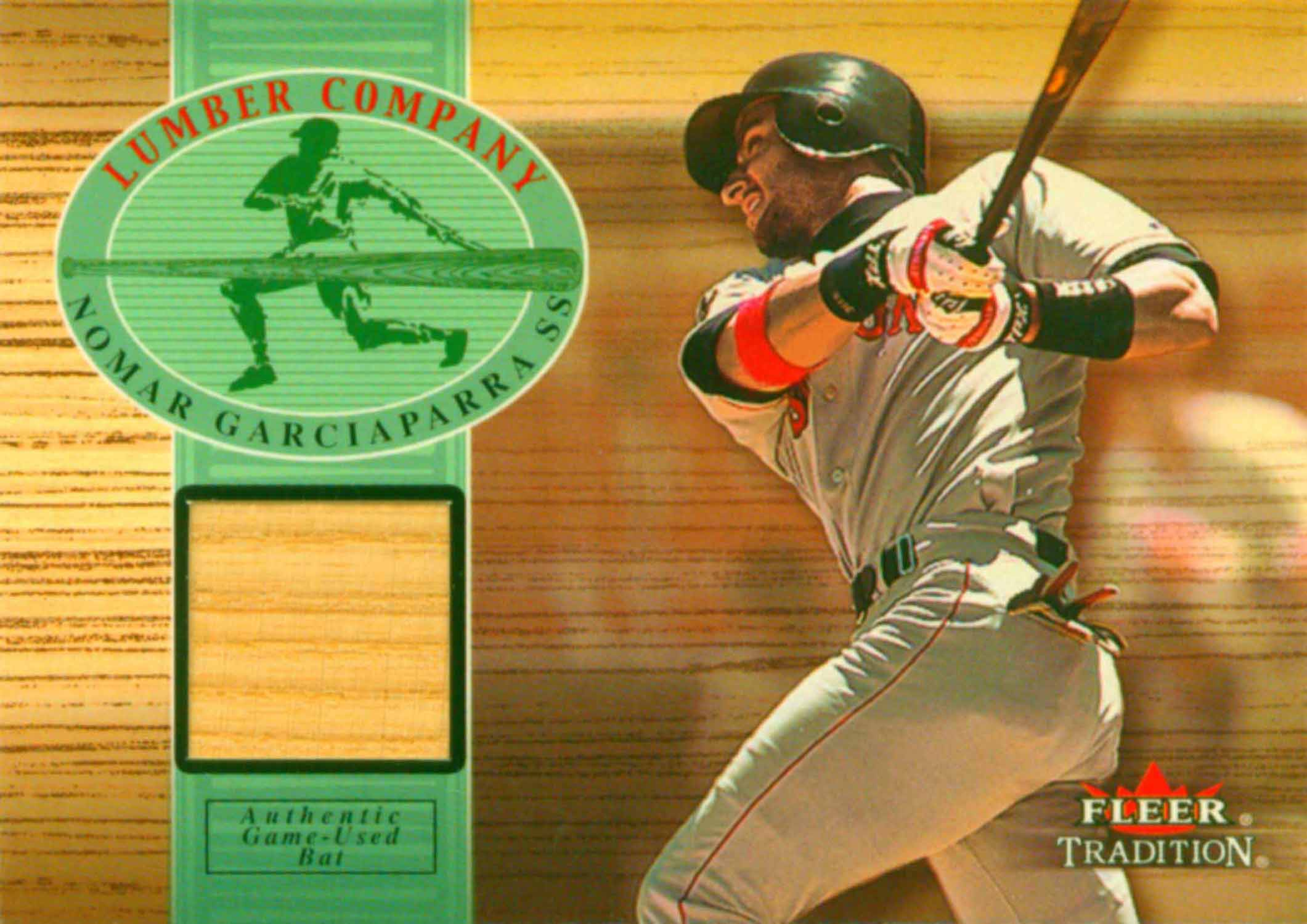 2002 Fleer Tradition Lumber Company Game Bat