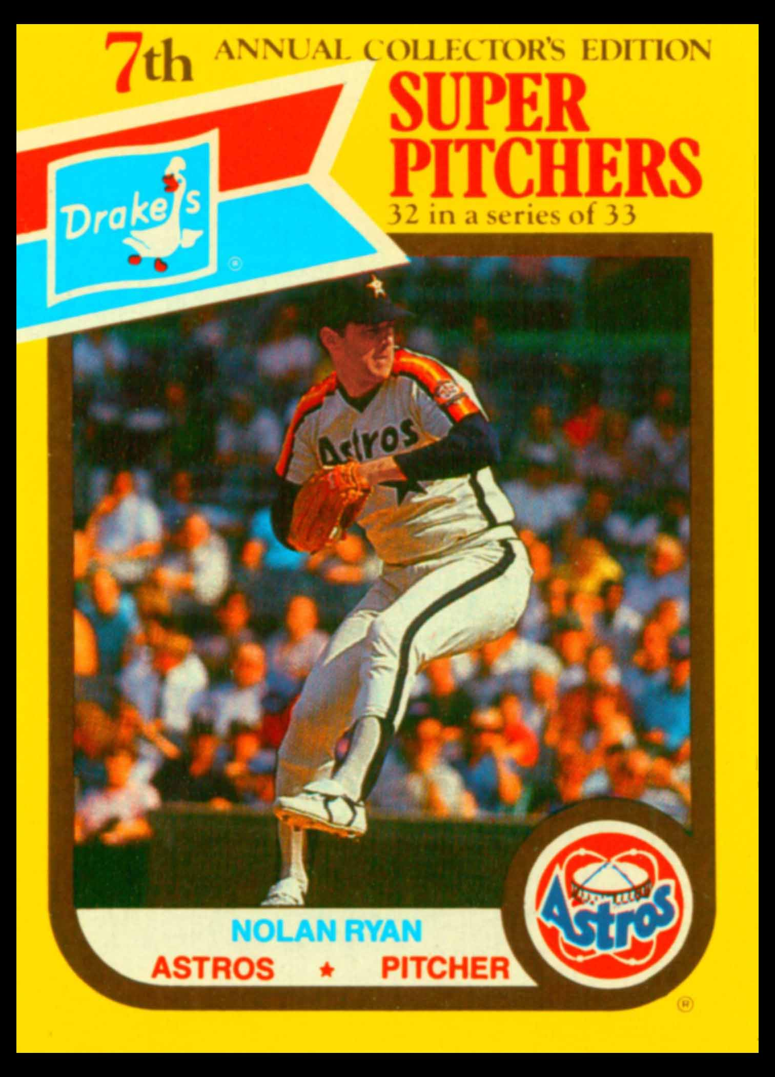 1987 Drake's Super Pitchers
