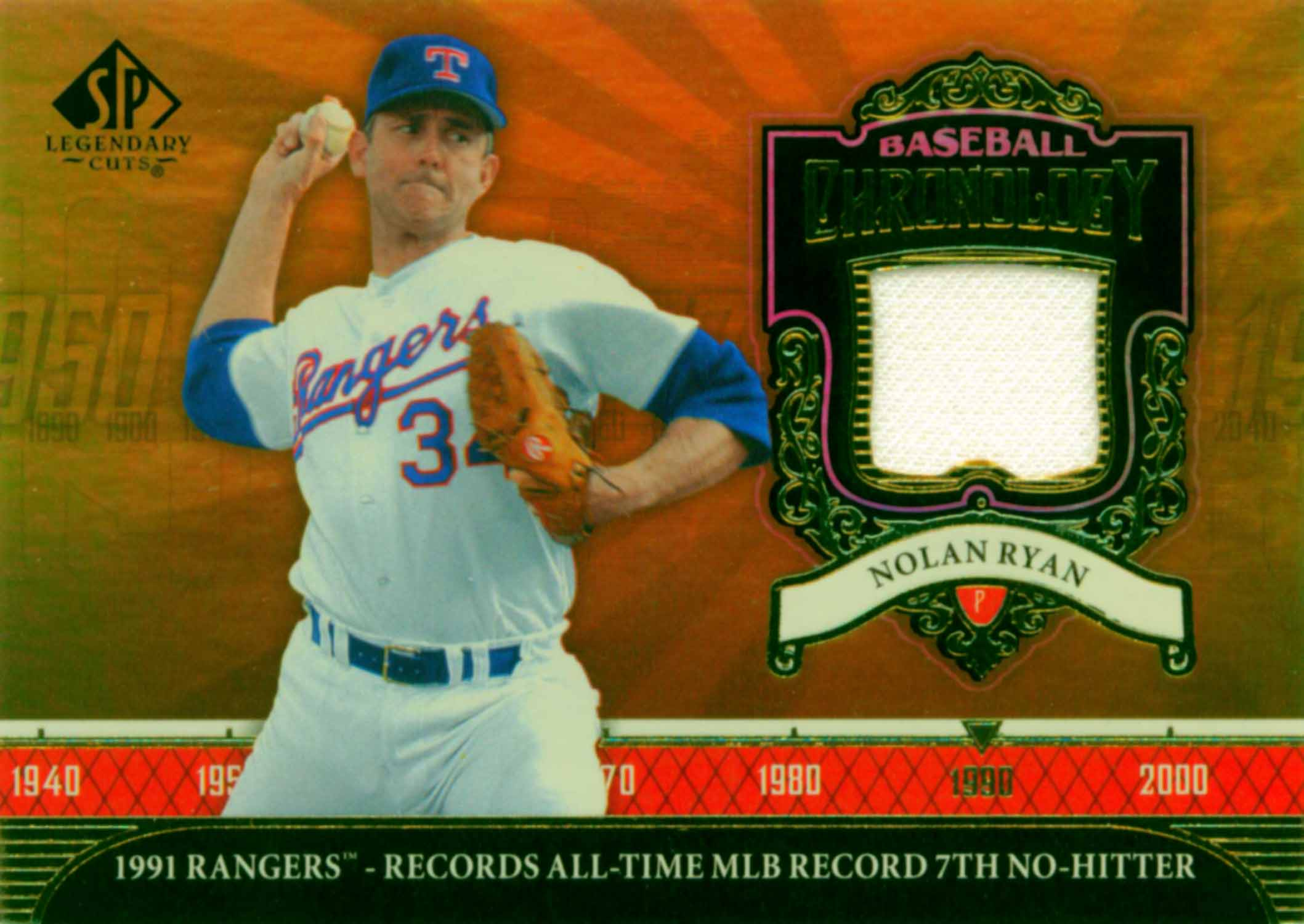 2006 SP Legendary Cuts Baseball Chronology Materials Jersey