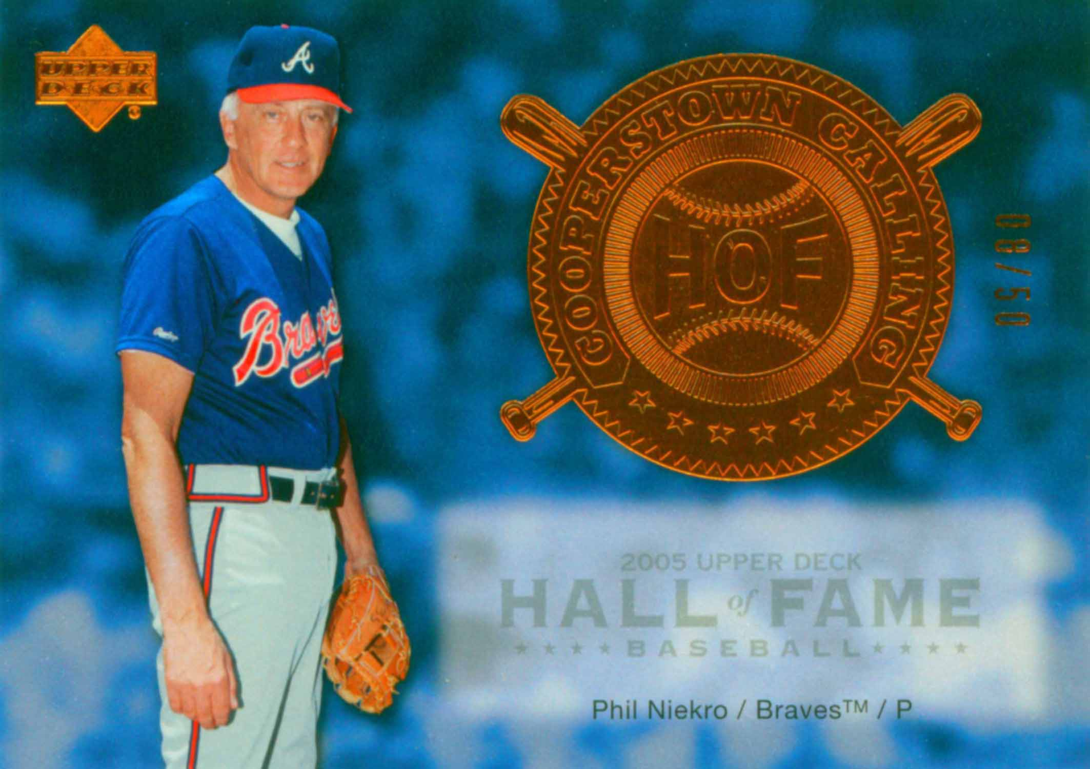 2005 Upper Deck Hall of Fame Cooperstown Calling