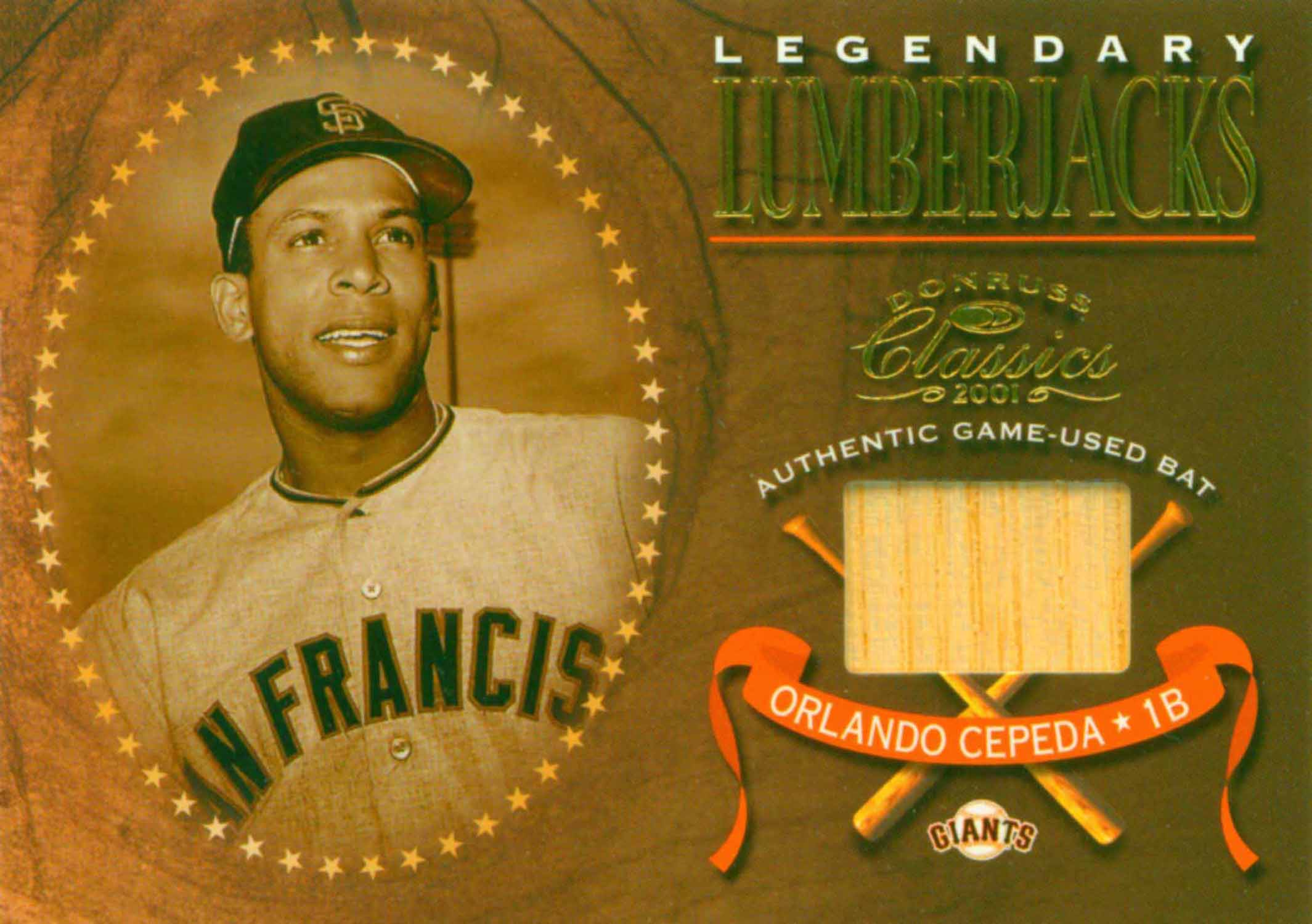 2001 Fleer Legacy Tailor Made