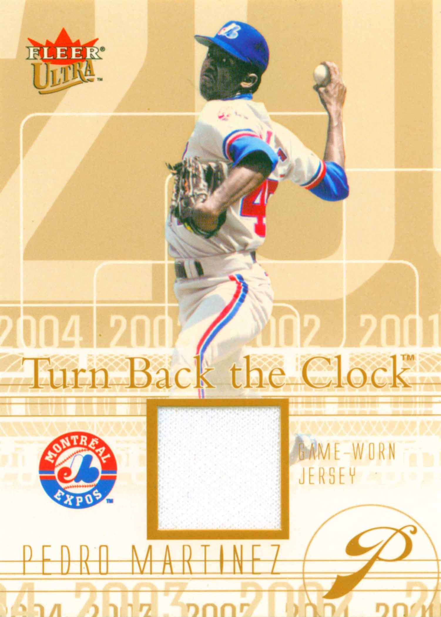 2004 Ultra Turn Back the Clock Jersey Copper