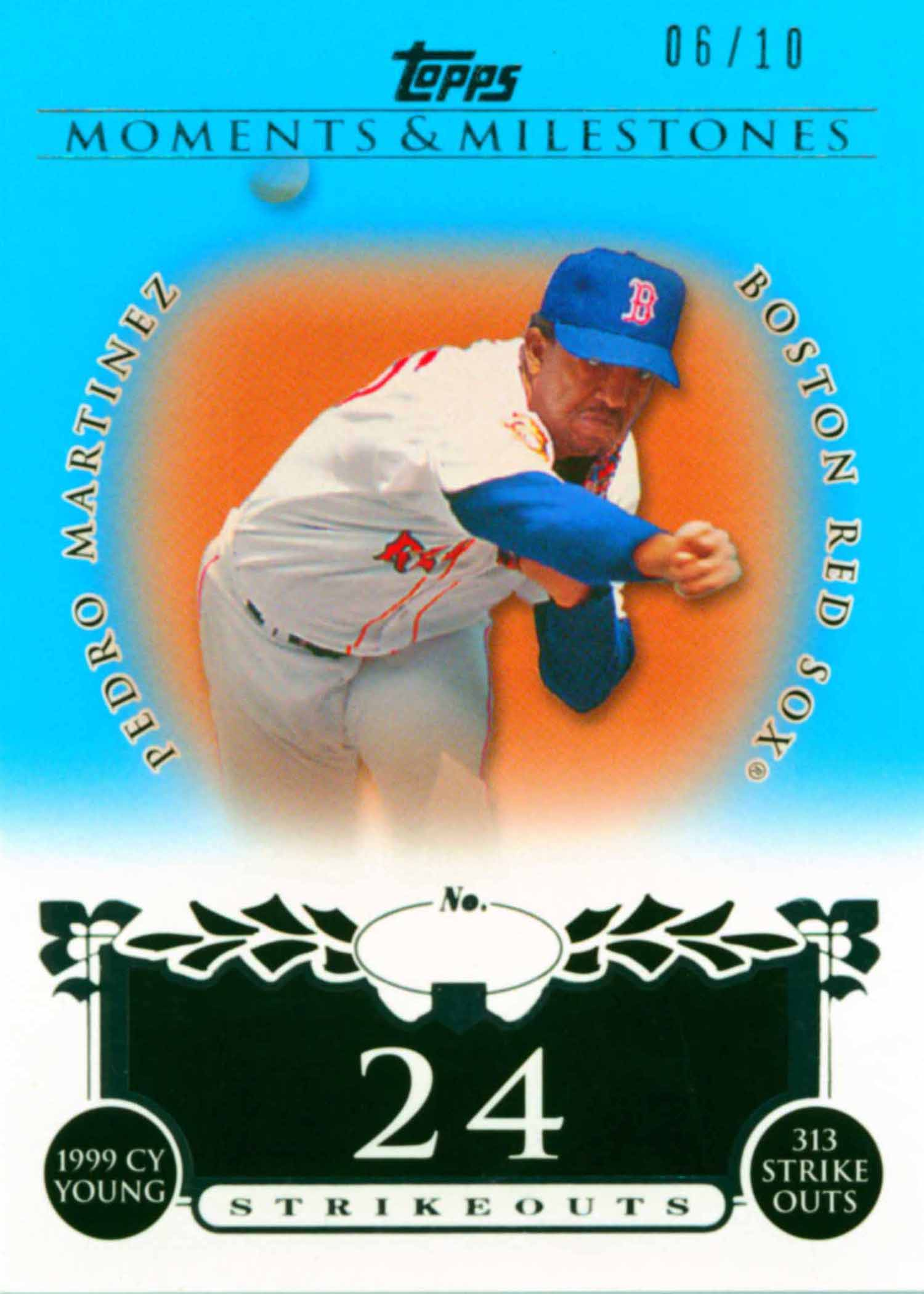 2008 Topps Moments and Milestones Blue