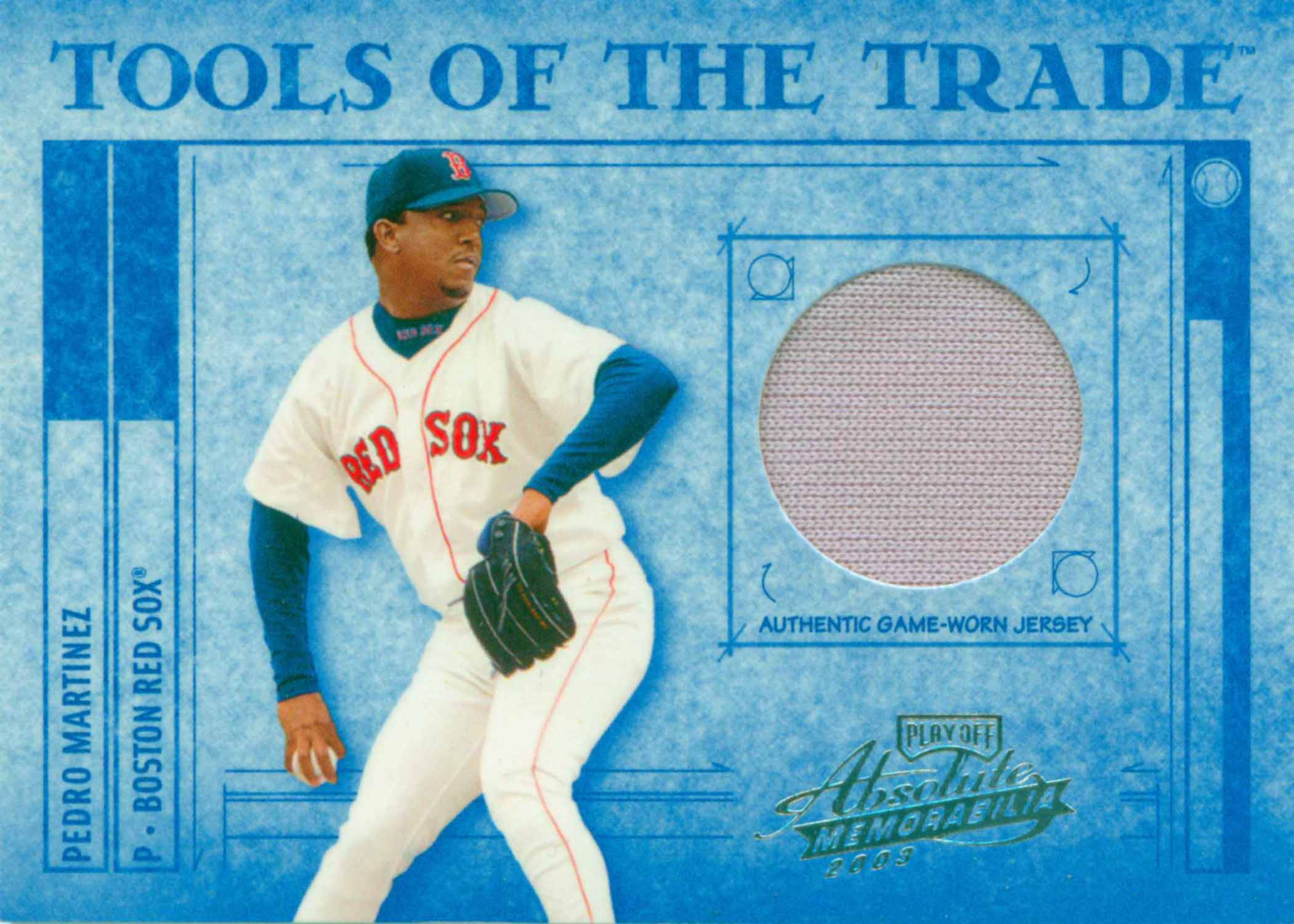 2003 Absolute Memorabilia Tools of the Trade Materials Jersey