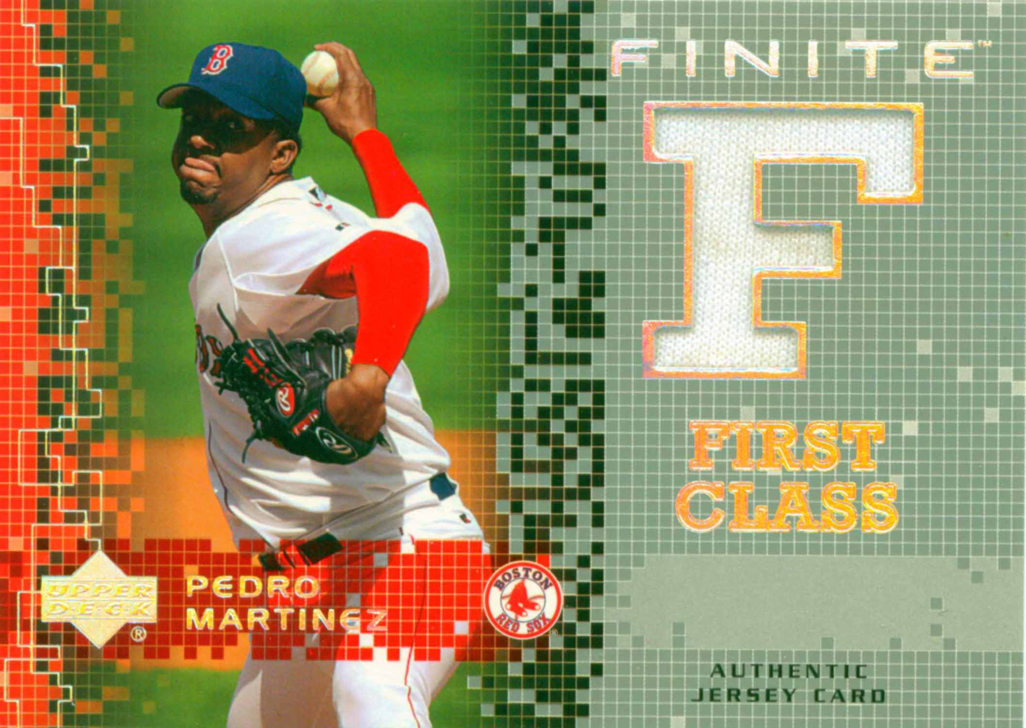 2003 Upper Deck Finite First Class Game Jersey