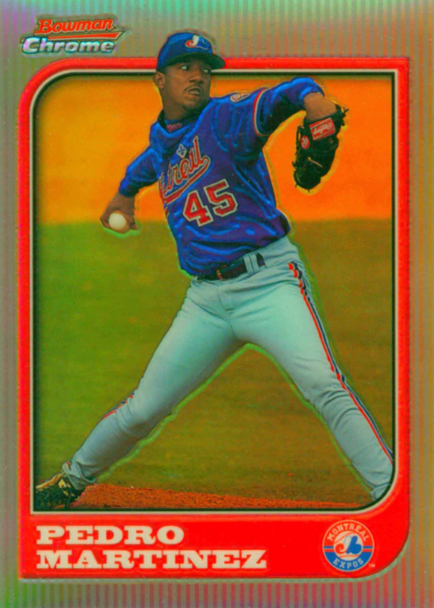 1997 Bowman Chrome Refractors