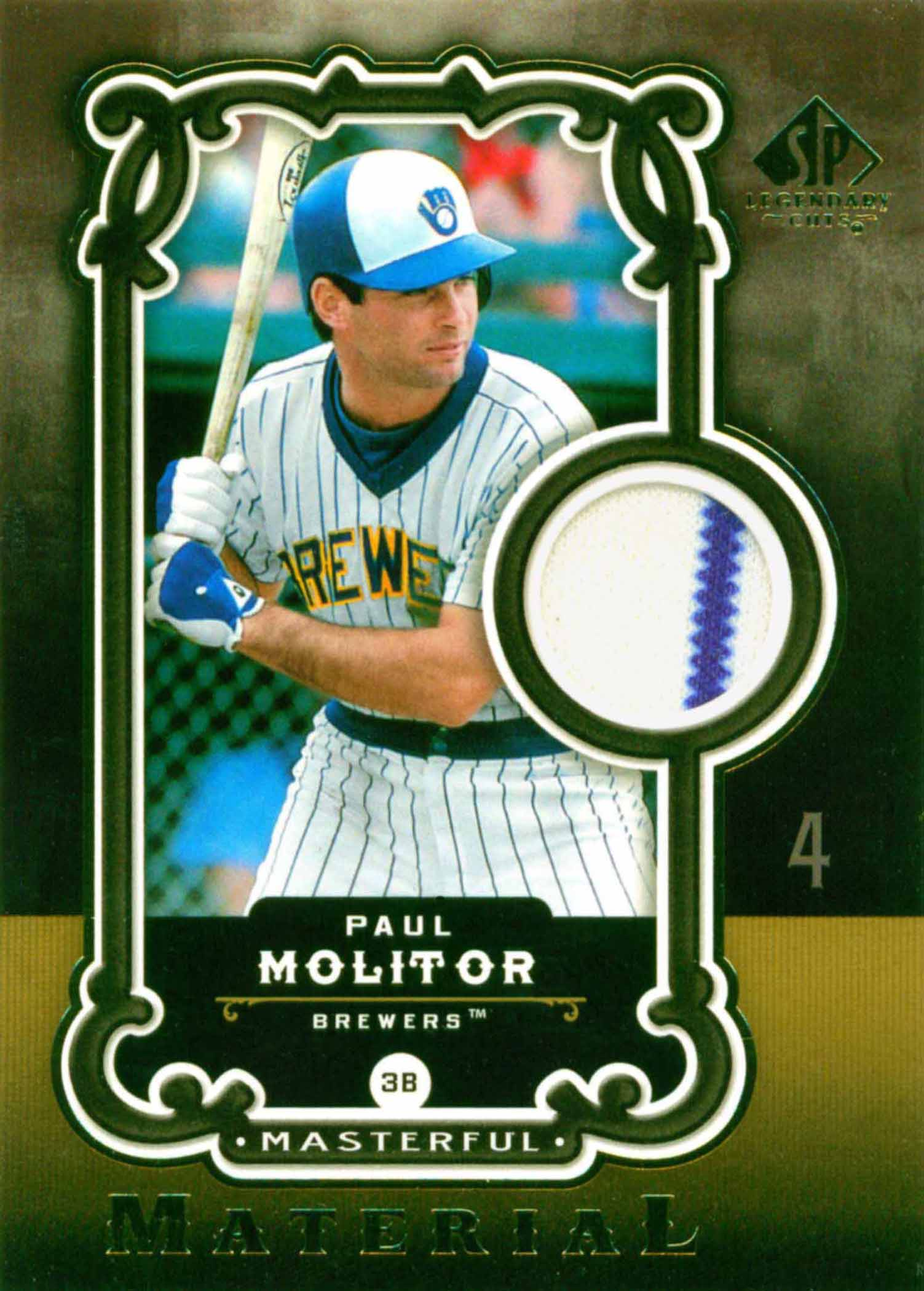 2006 SP Legendary Cuts Masterful Materials
