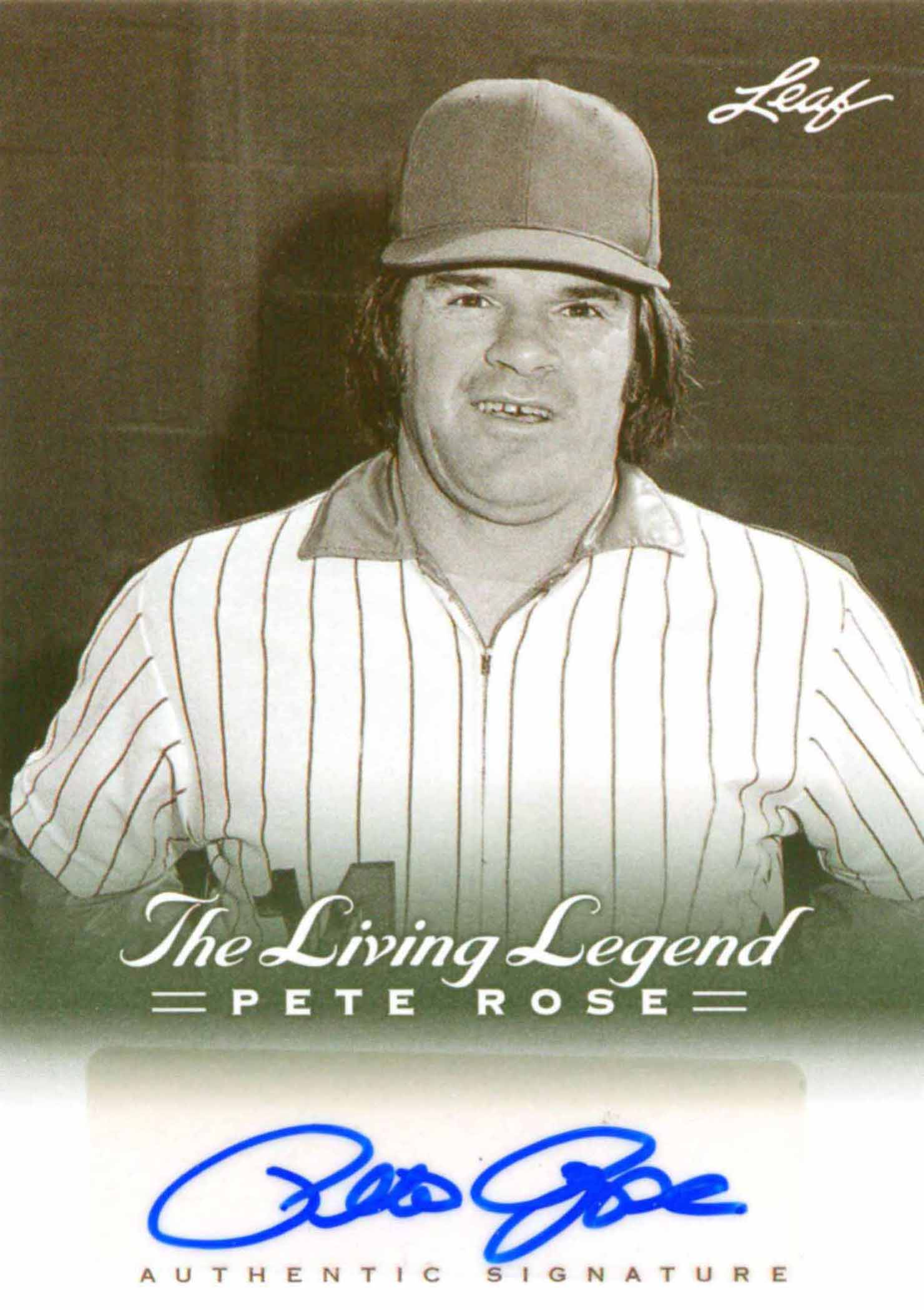 2012 Leaf Pete Rose The Living Legend Autographs
