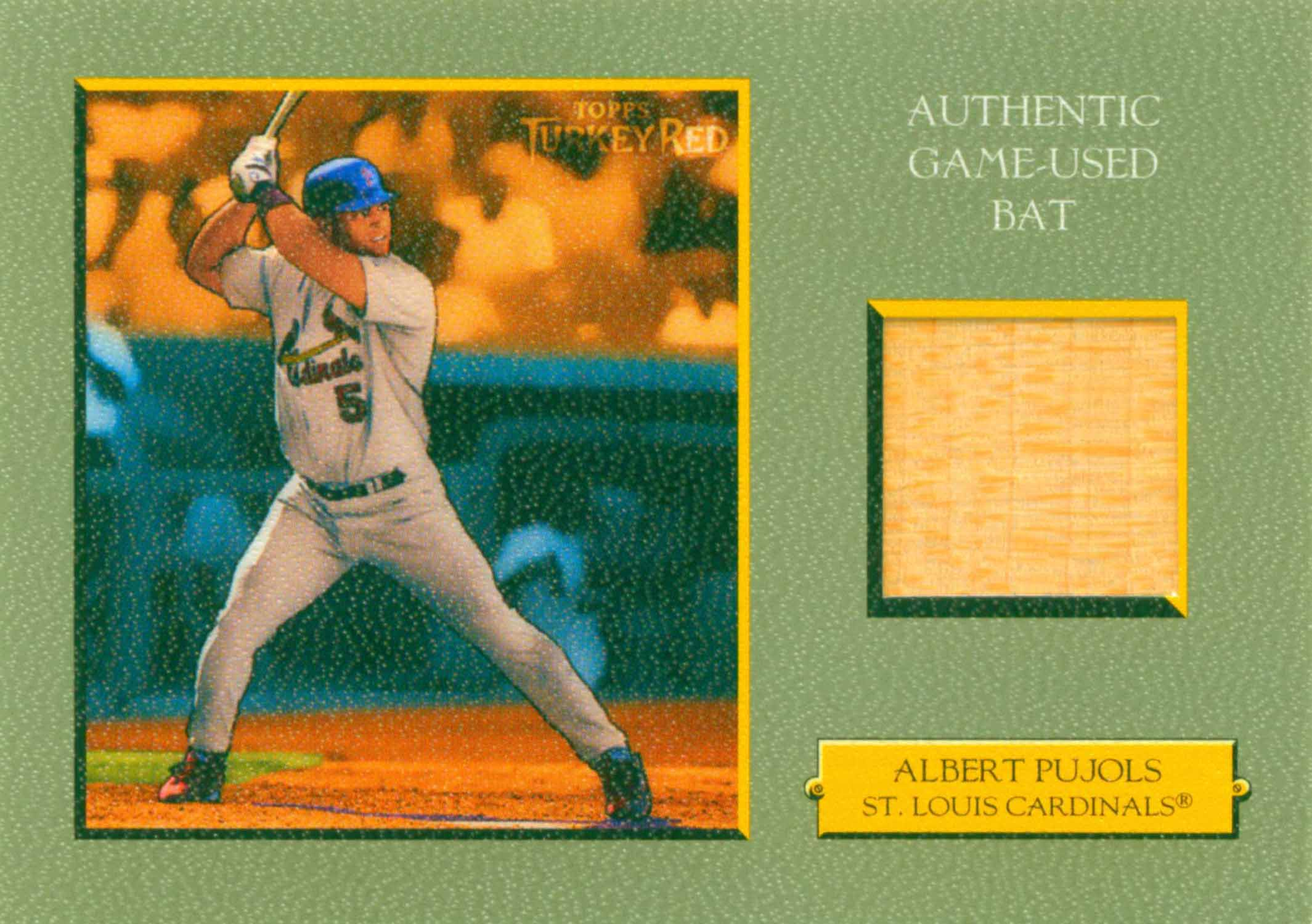 2005 Topps Turkey Red Relics Bat