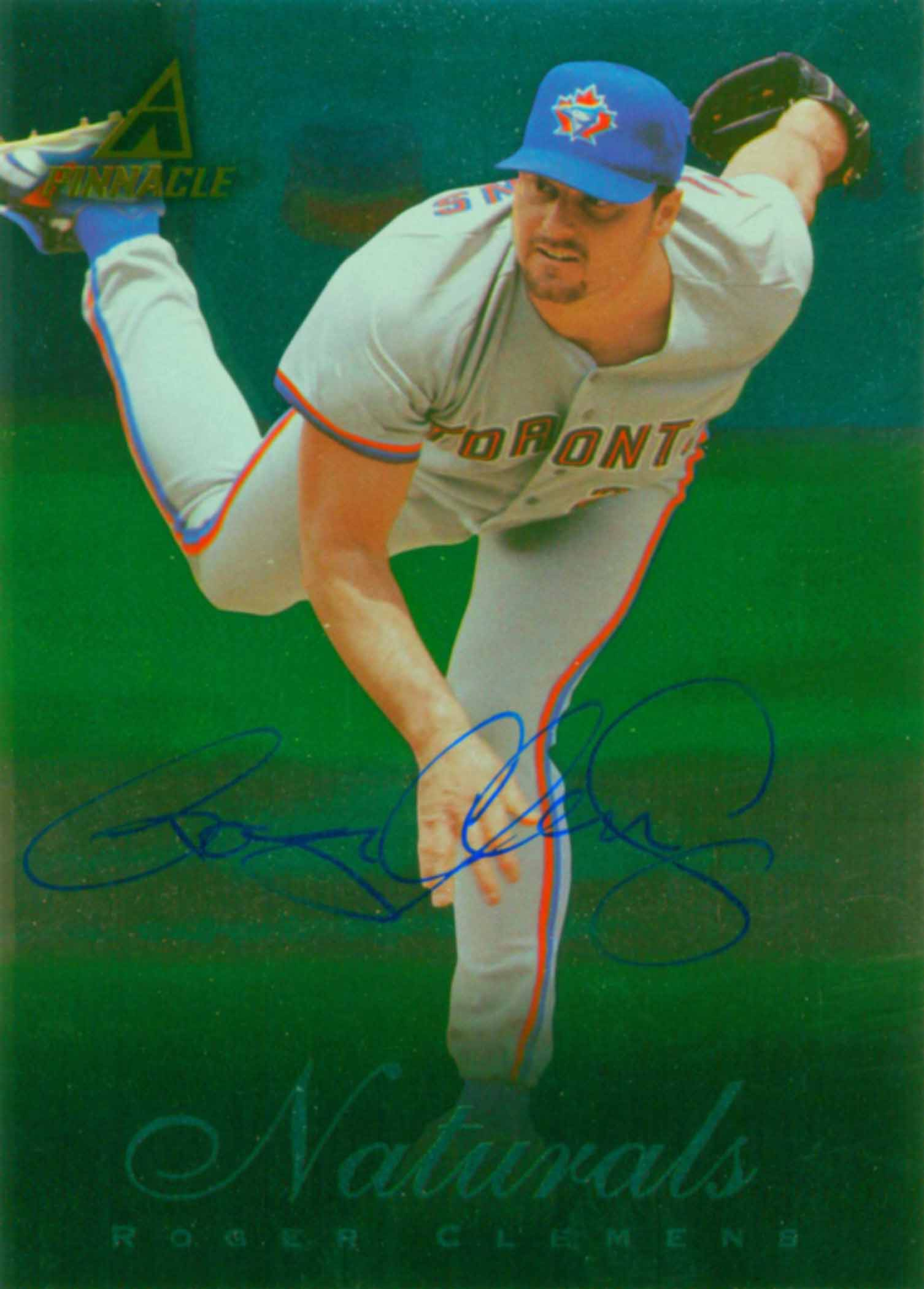 1998 Pinnacle Plus Naturals Autographed