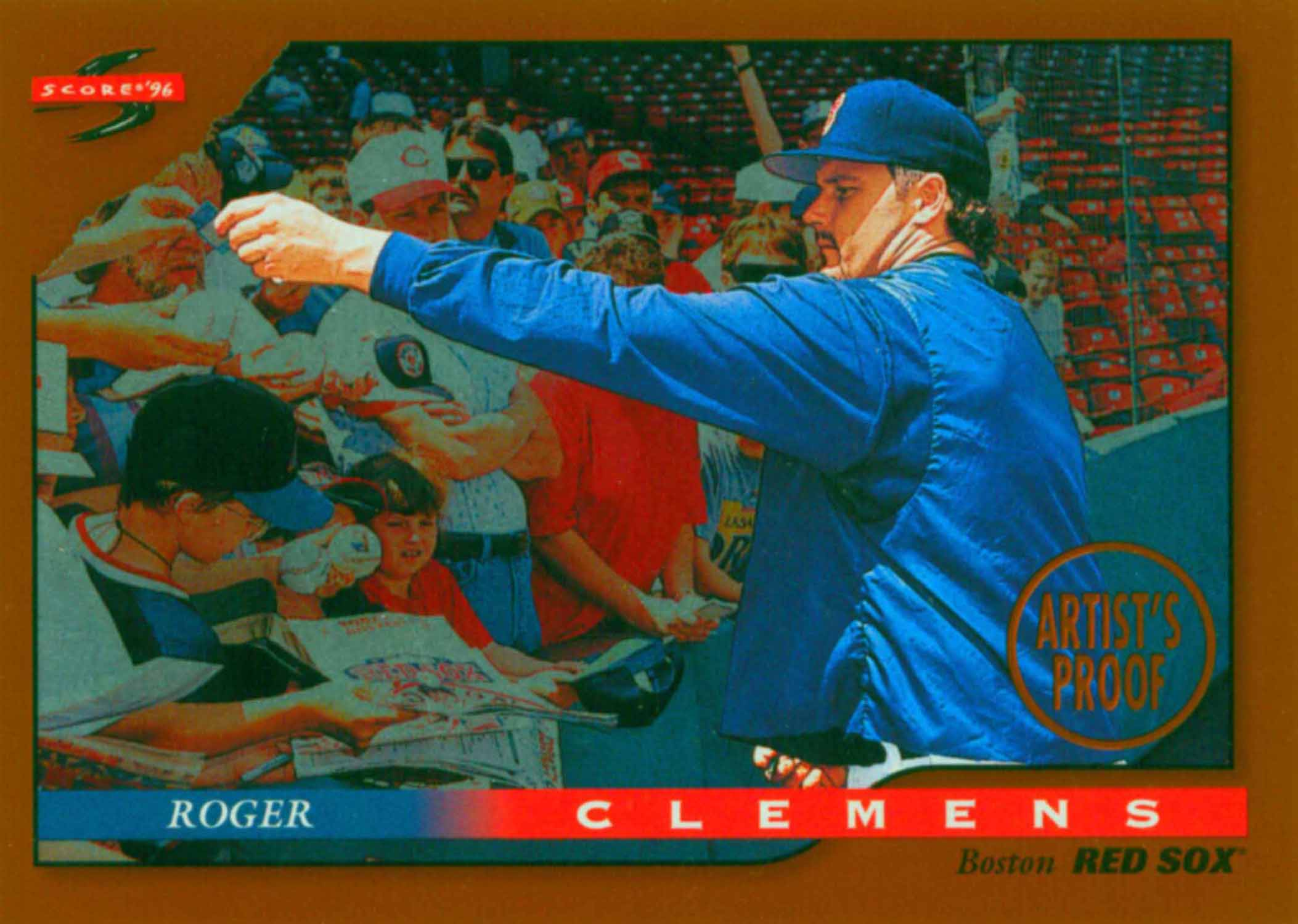 1996 Score Dugout Collection Artist's Proofs