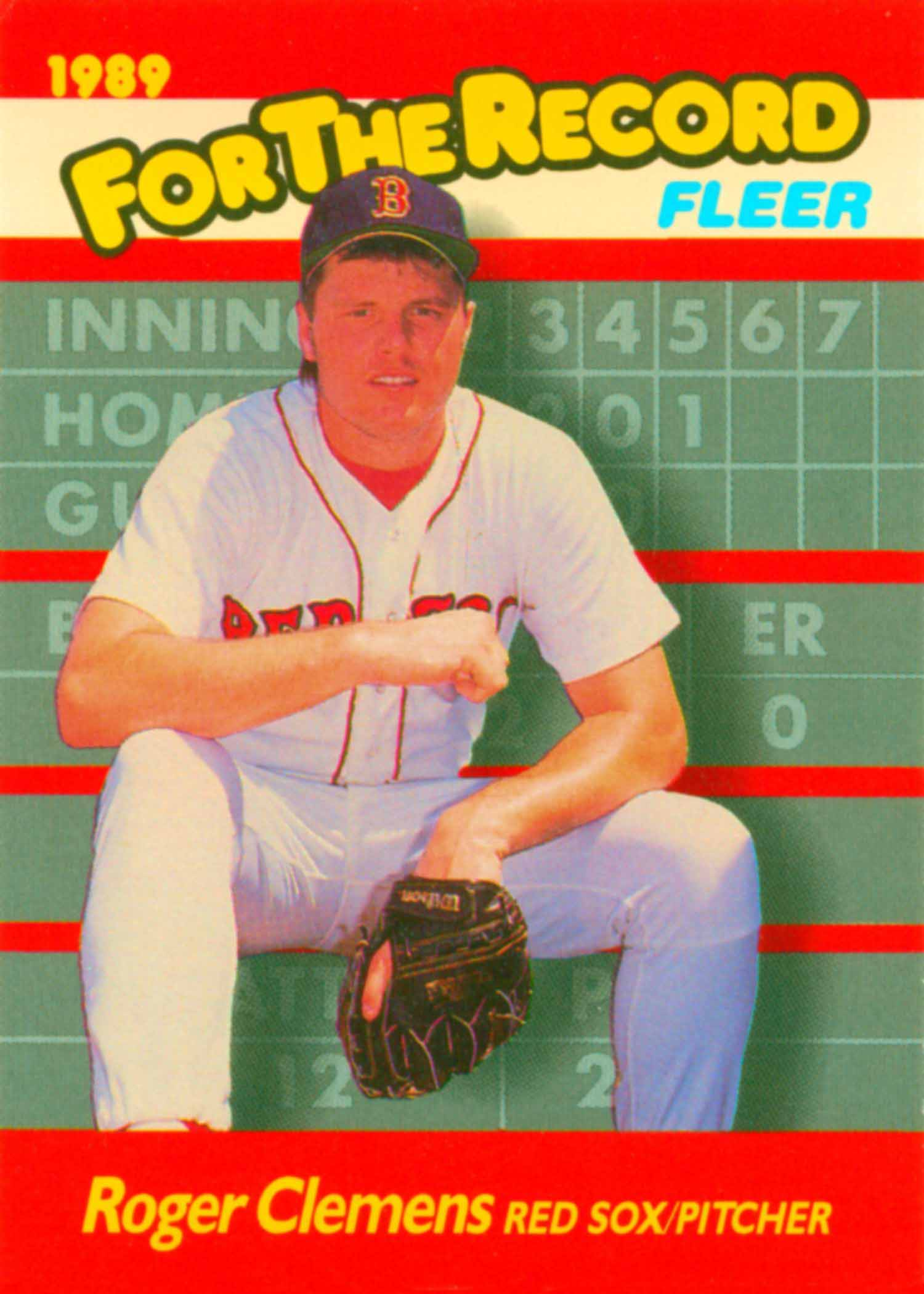 1989 Fleer For The Record