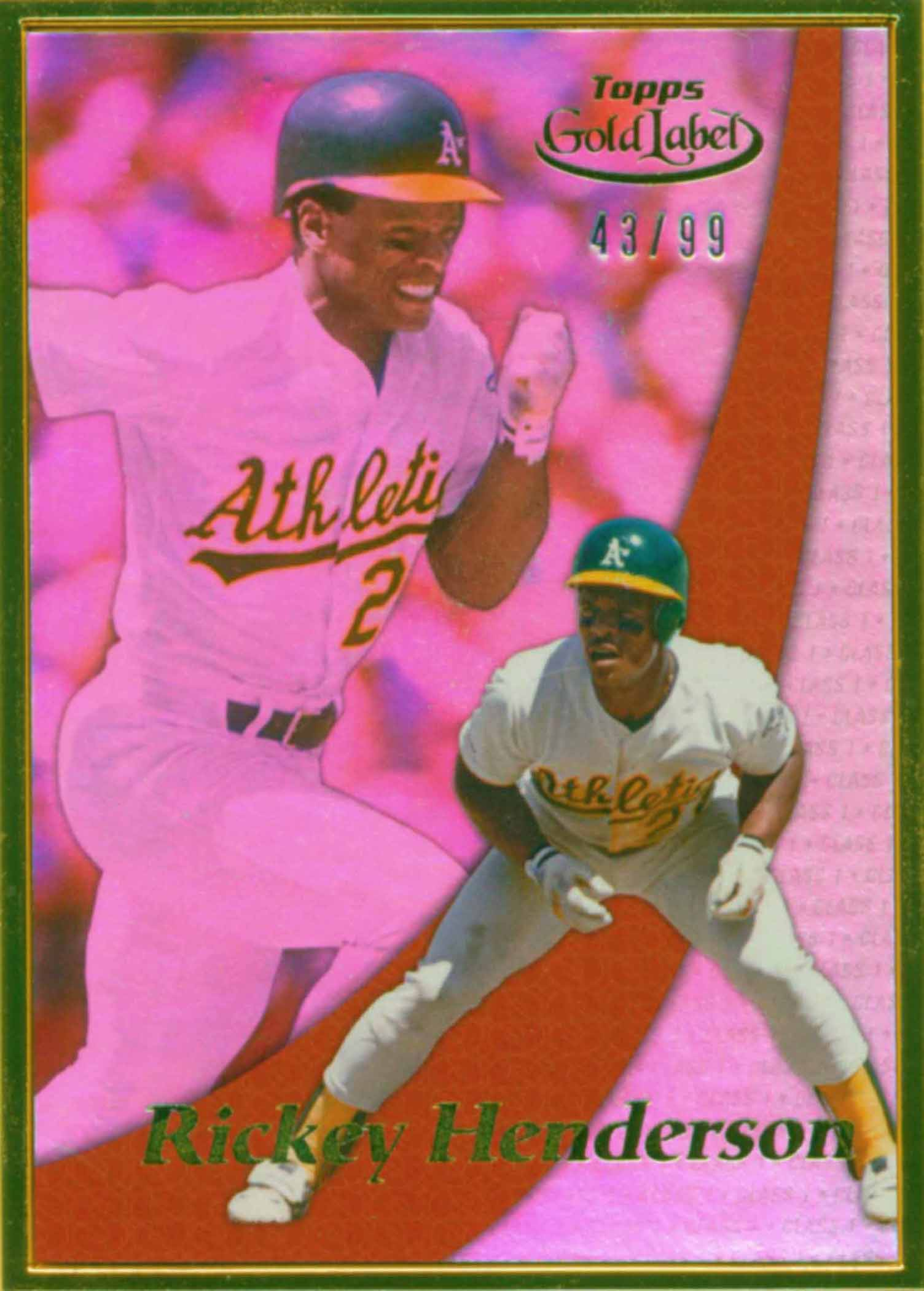 2014 Topps Gold Label