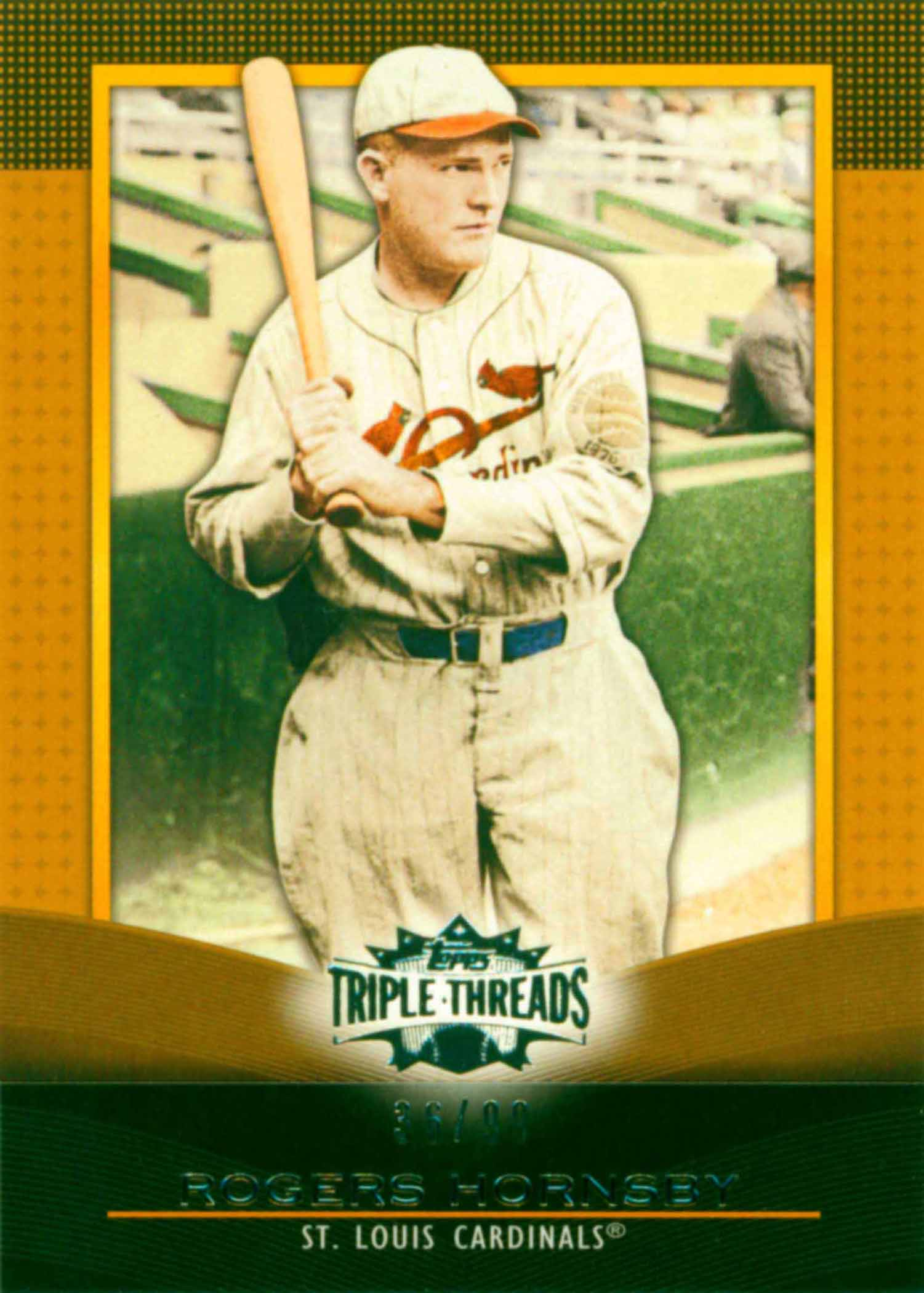 2011 Topps Triple Threads Gold