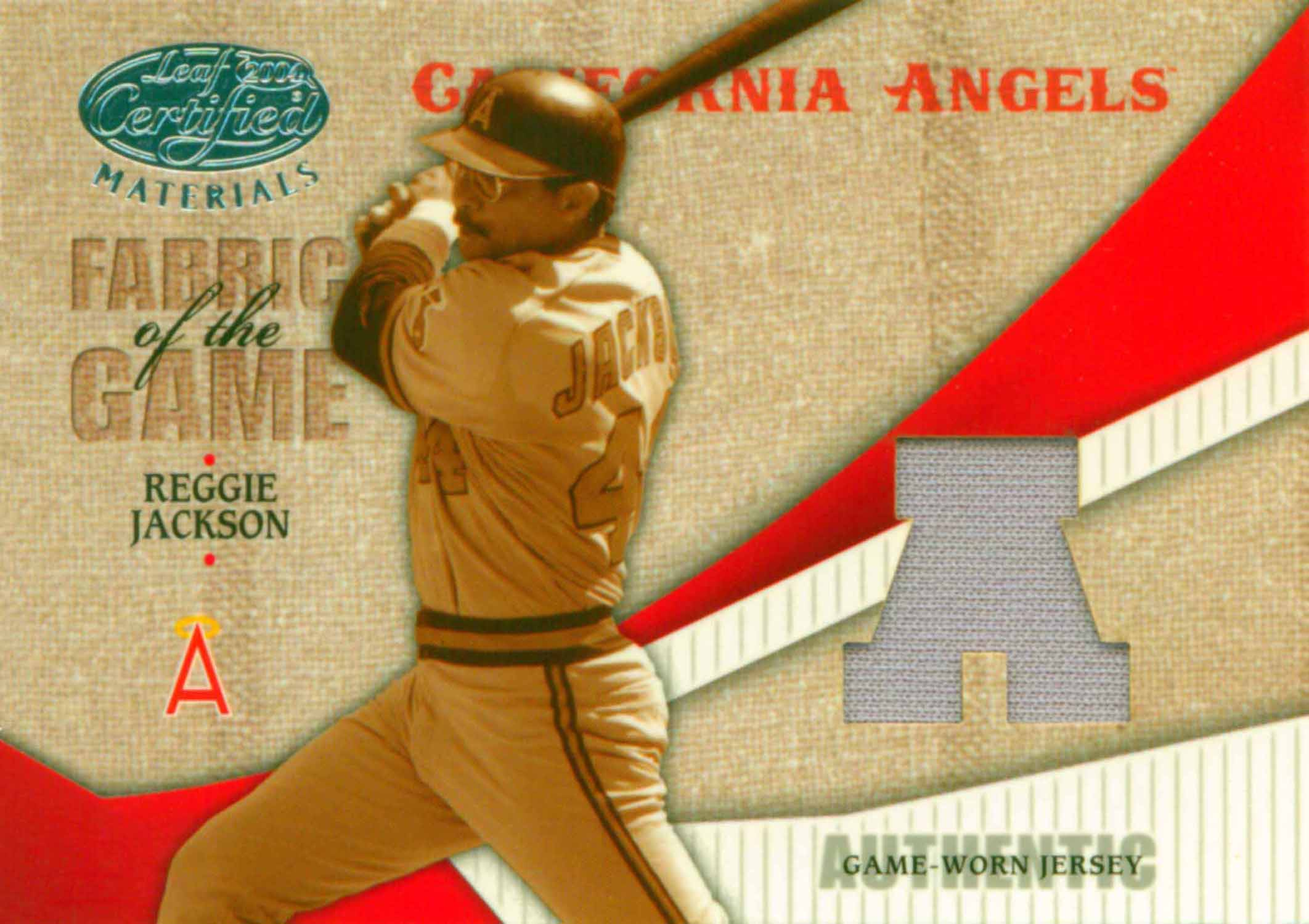 2004 Leaf Certified Materials Fabric of the Game AL/NL Jersey
