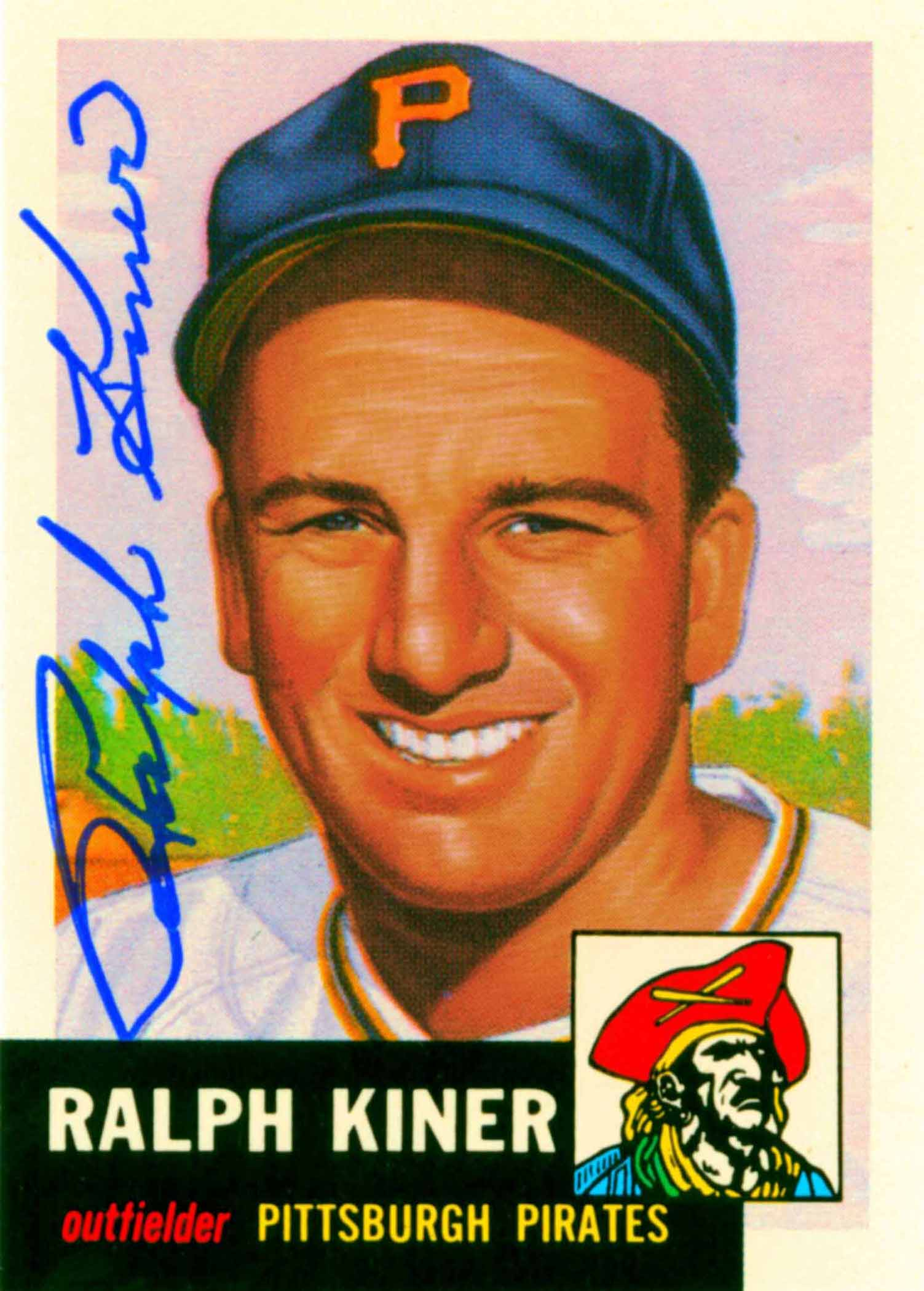 1991 Topps Archives 1953 Autographed