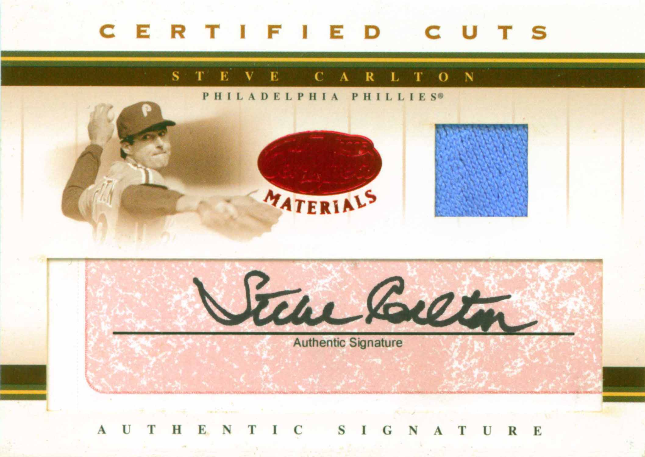 2006 SP Legendary Cuts Place in History Autographs