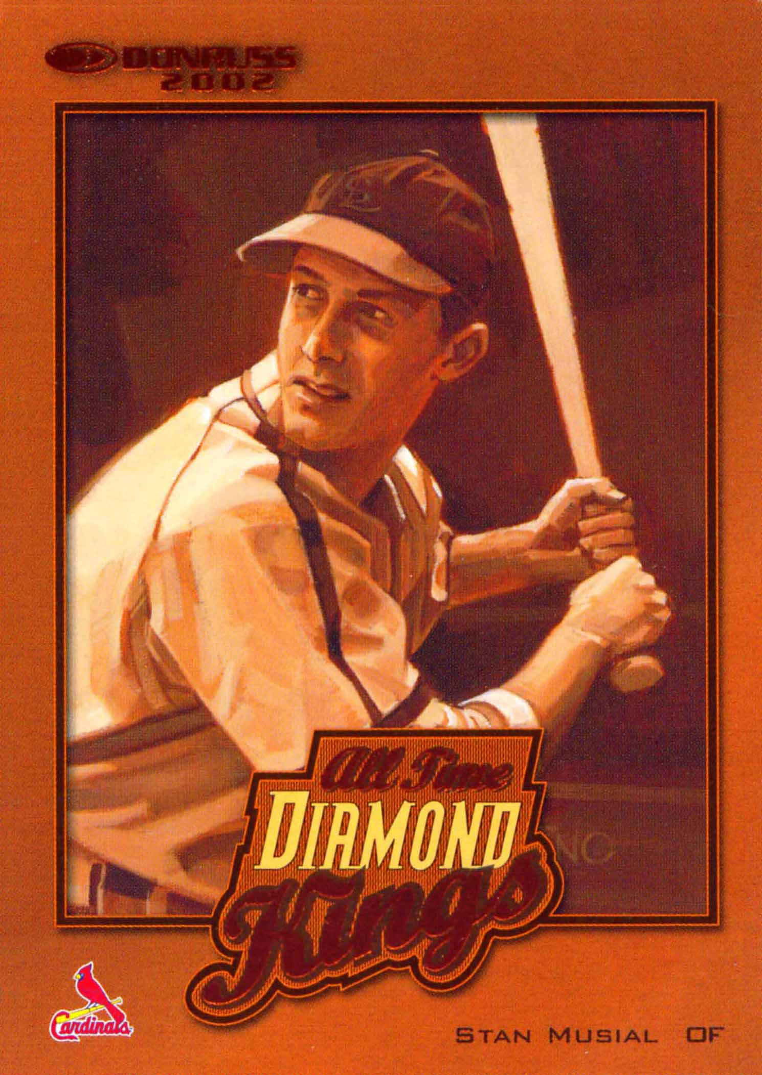 2002 Donruss All-Time Diamond Kings