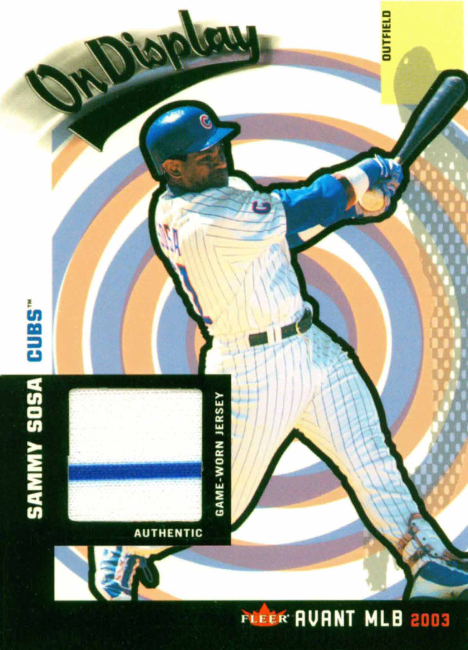 2002 Cubs Topps Best Moments