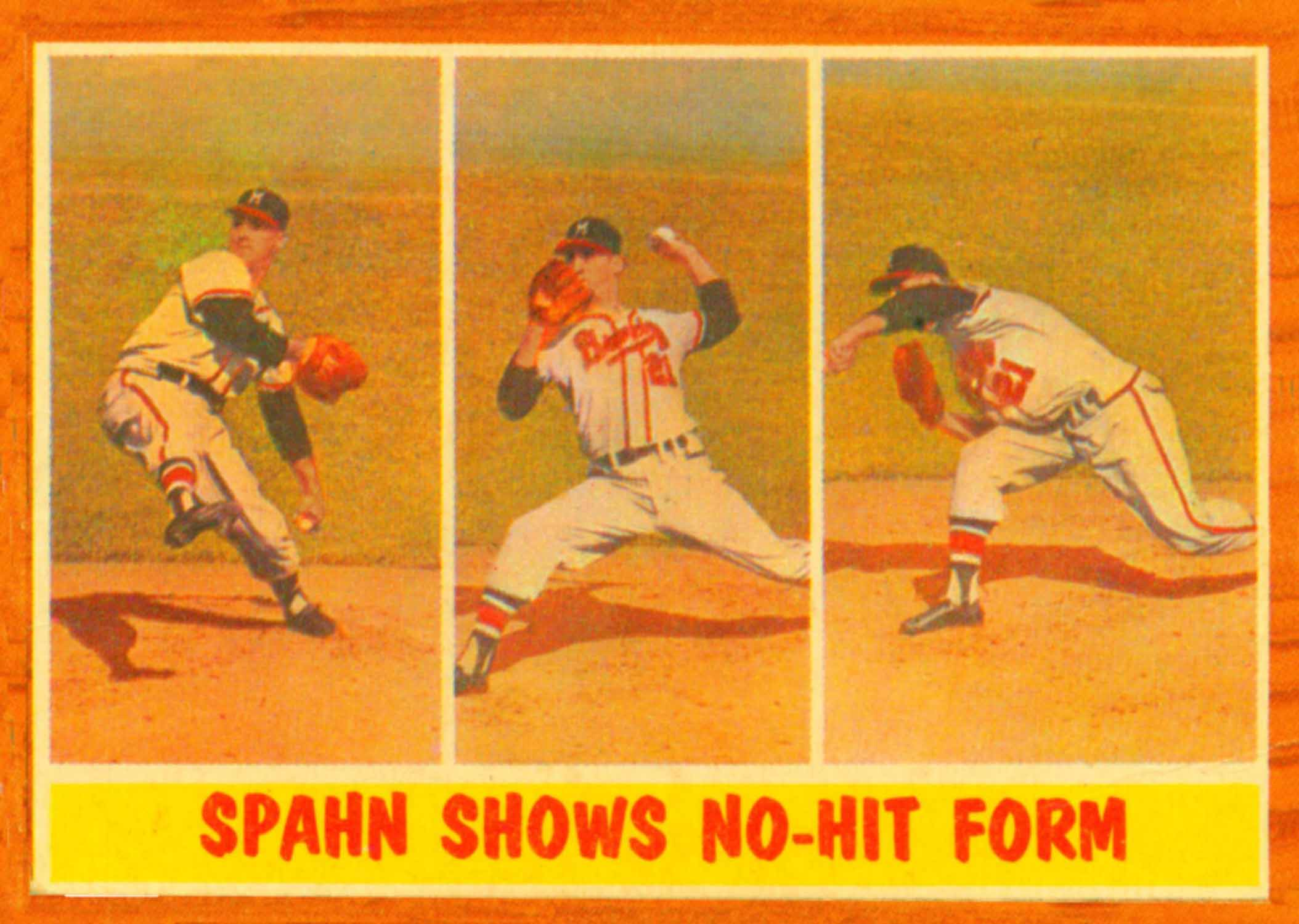 1962 Topps In Action