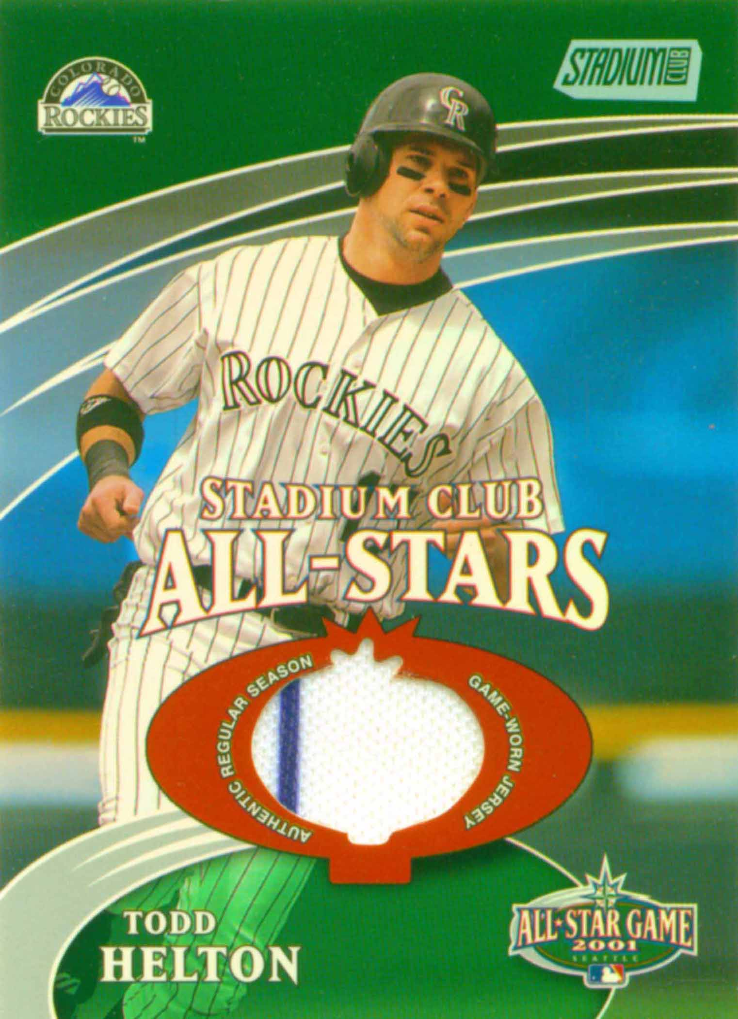 2002 Stadium Club All-Star Relics Jersey