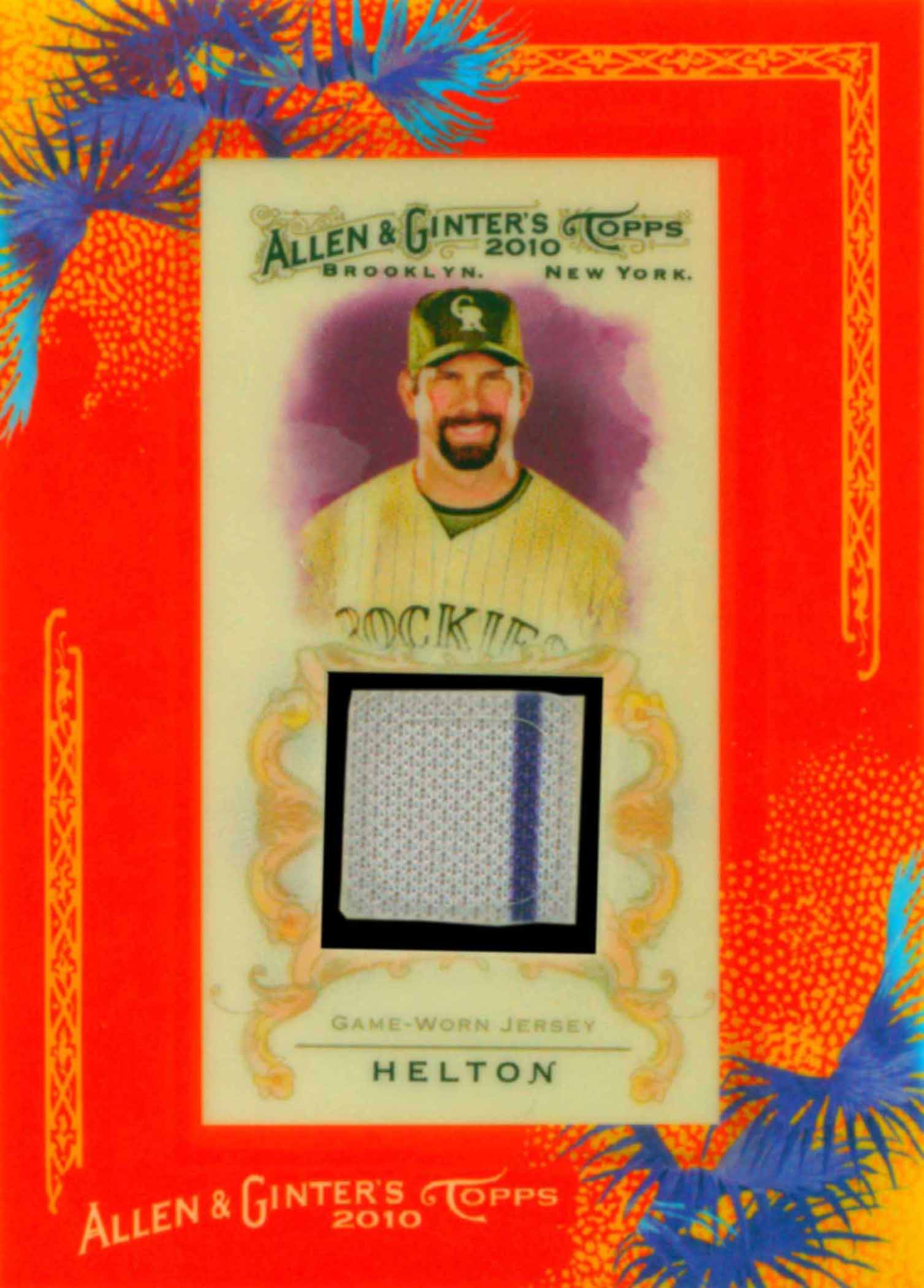 2010 Topps Allen and Ginter Relics
