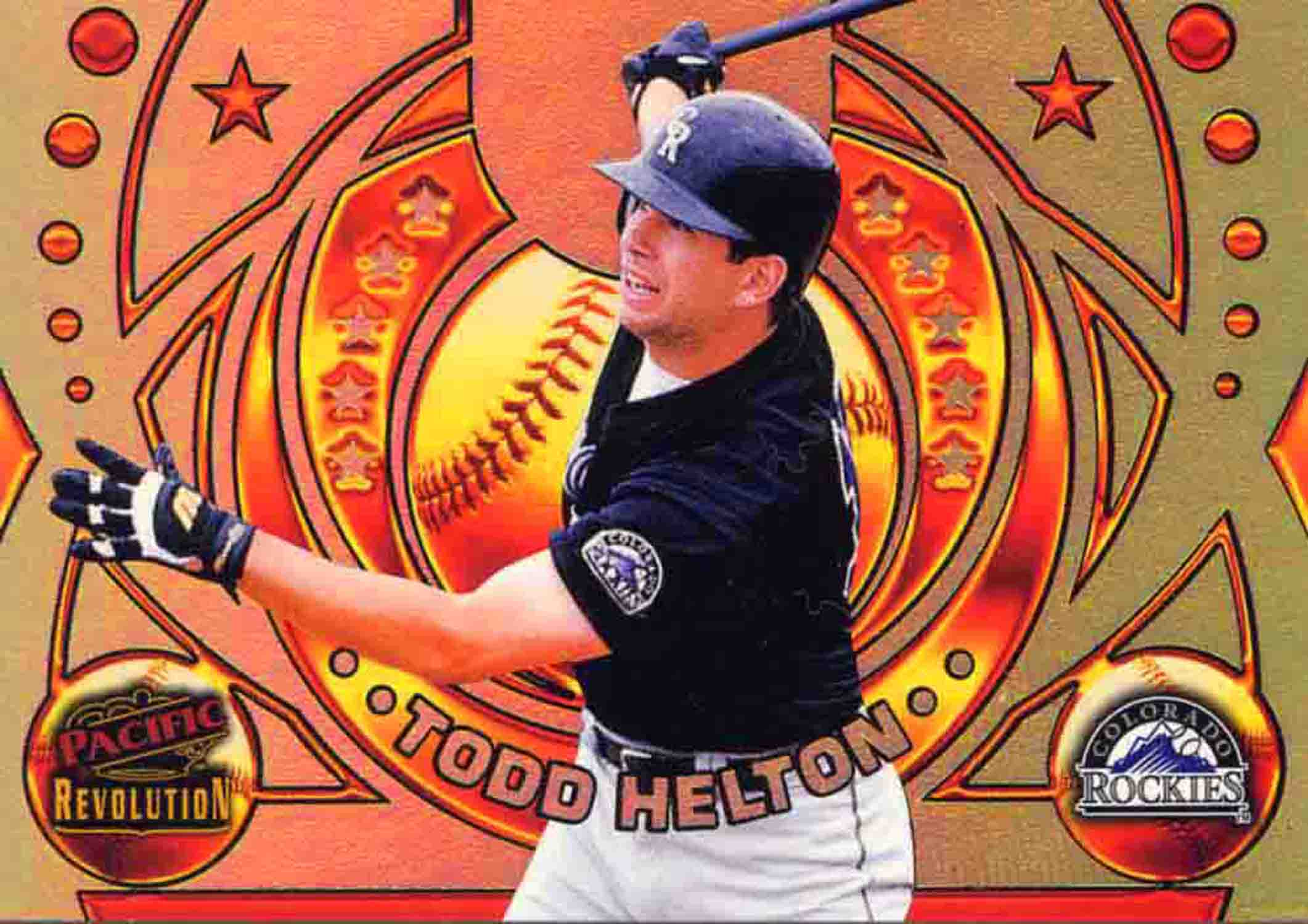1998 Revolution Rookies and Hardball Heroes Gold