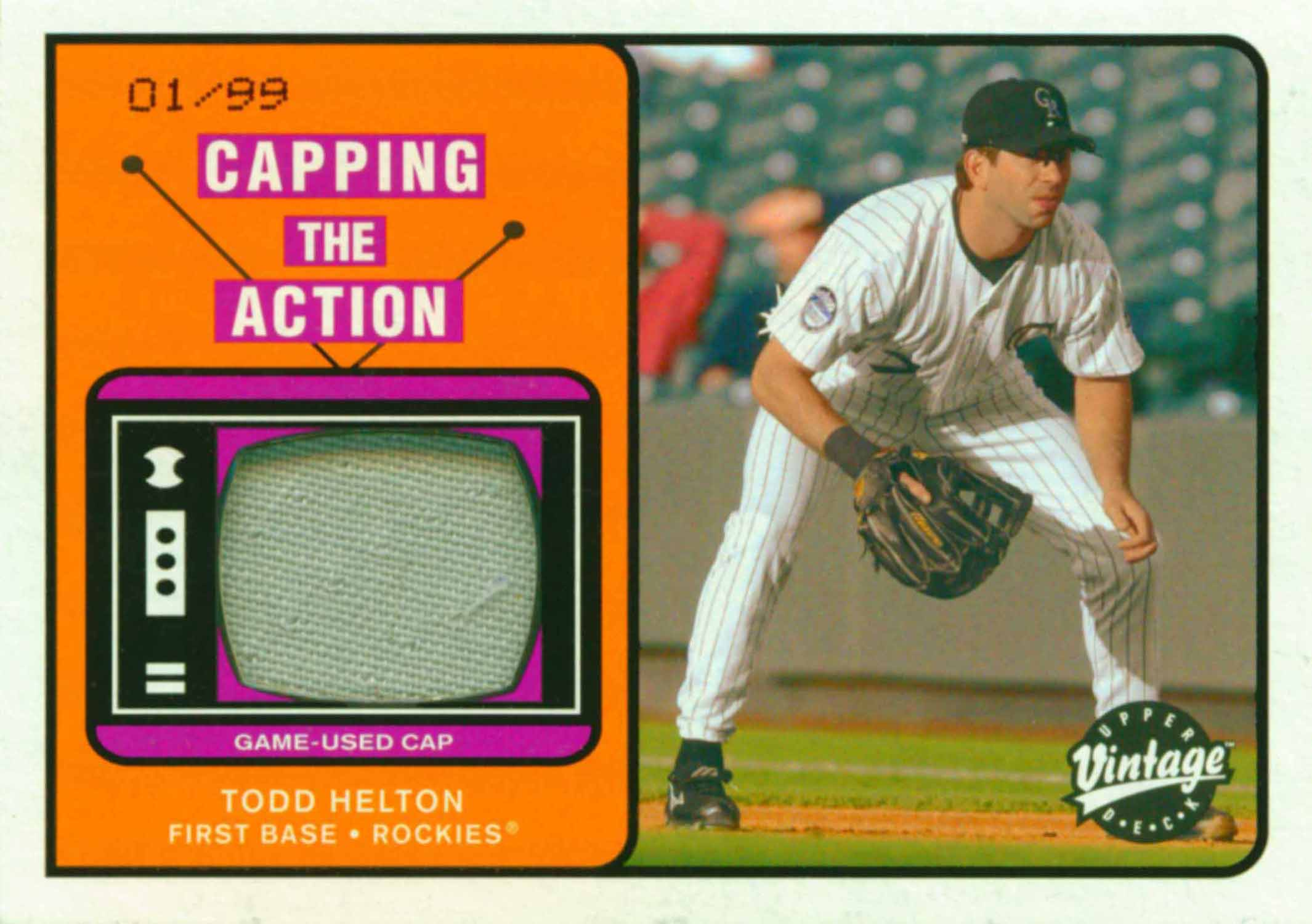 2003 Upper Deck Vintage Capping the Action