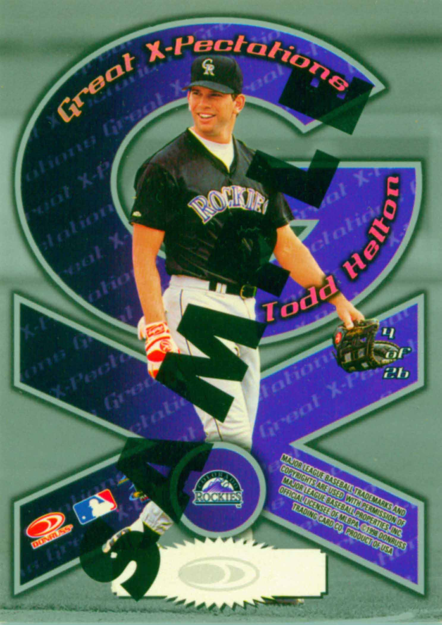 1998 Donruss Preferred Great X-Pectations Samples